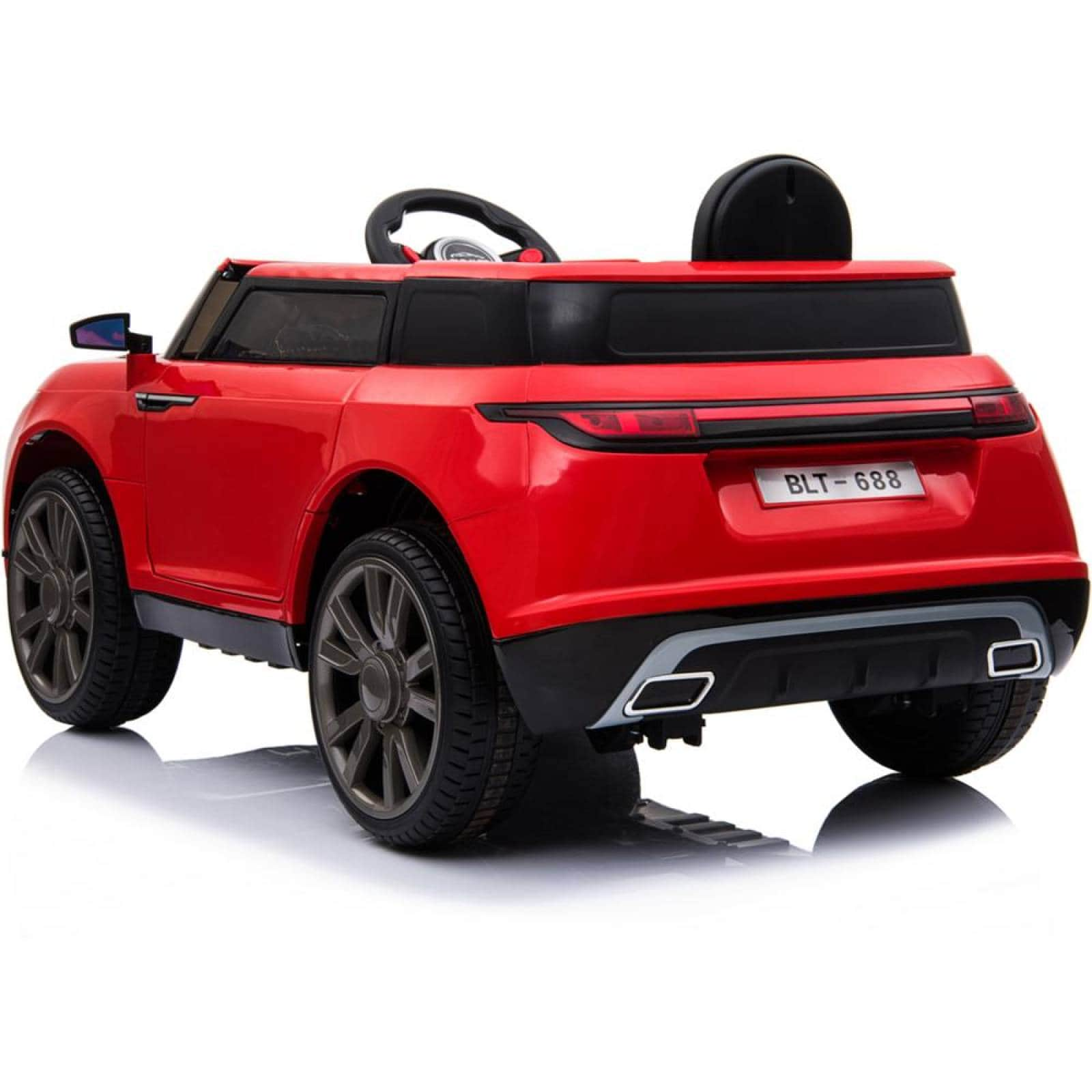 Carro Electrico Montable Con Control Rojo USBMusicaRadio