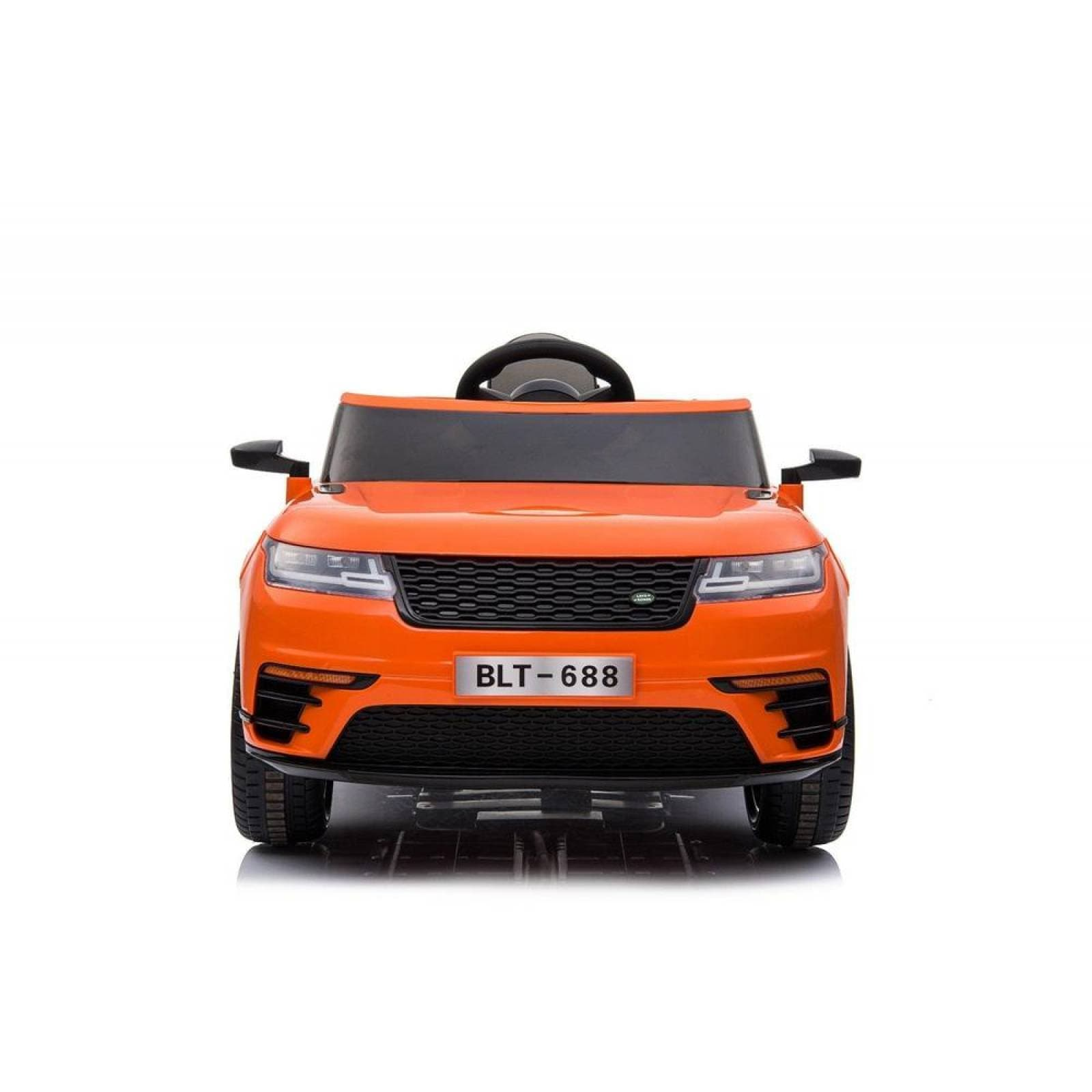 Carro Electrico Montable Con Control Naranja USBMusicaRadio