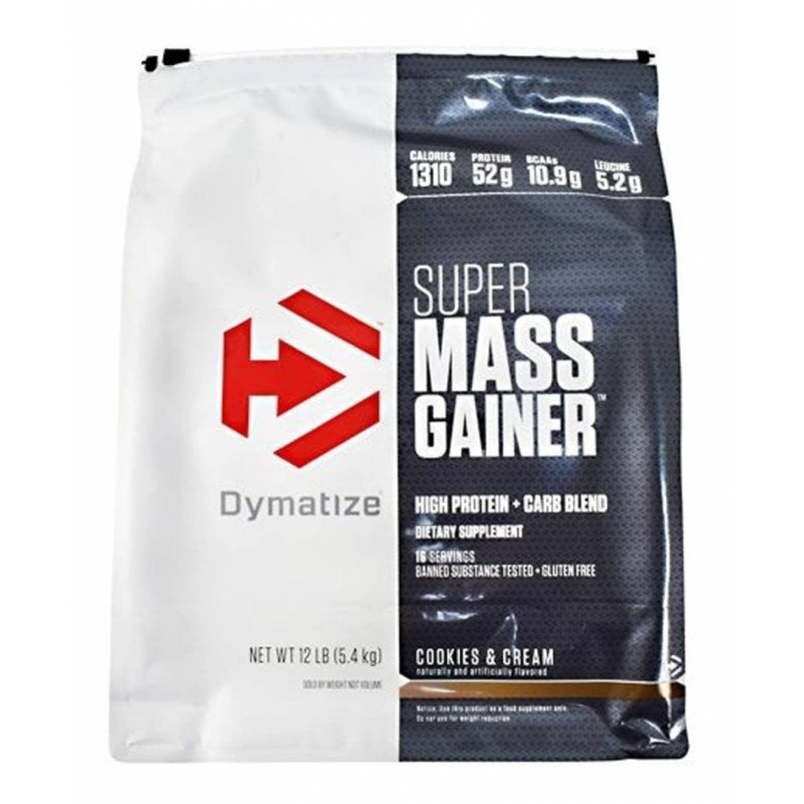 DYM SUPER MASS GAINER 12 LBS COOKIES & CREAM