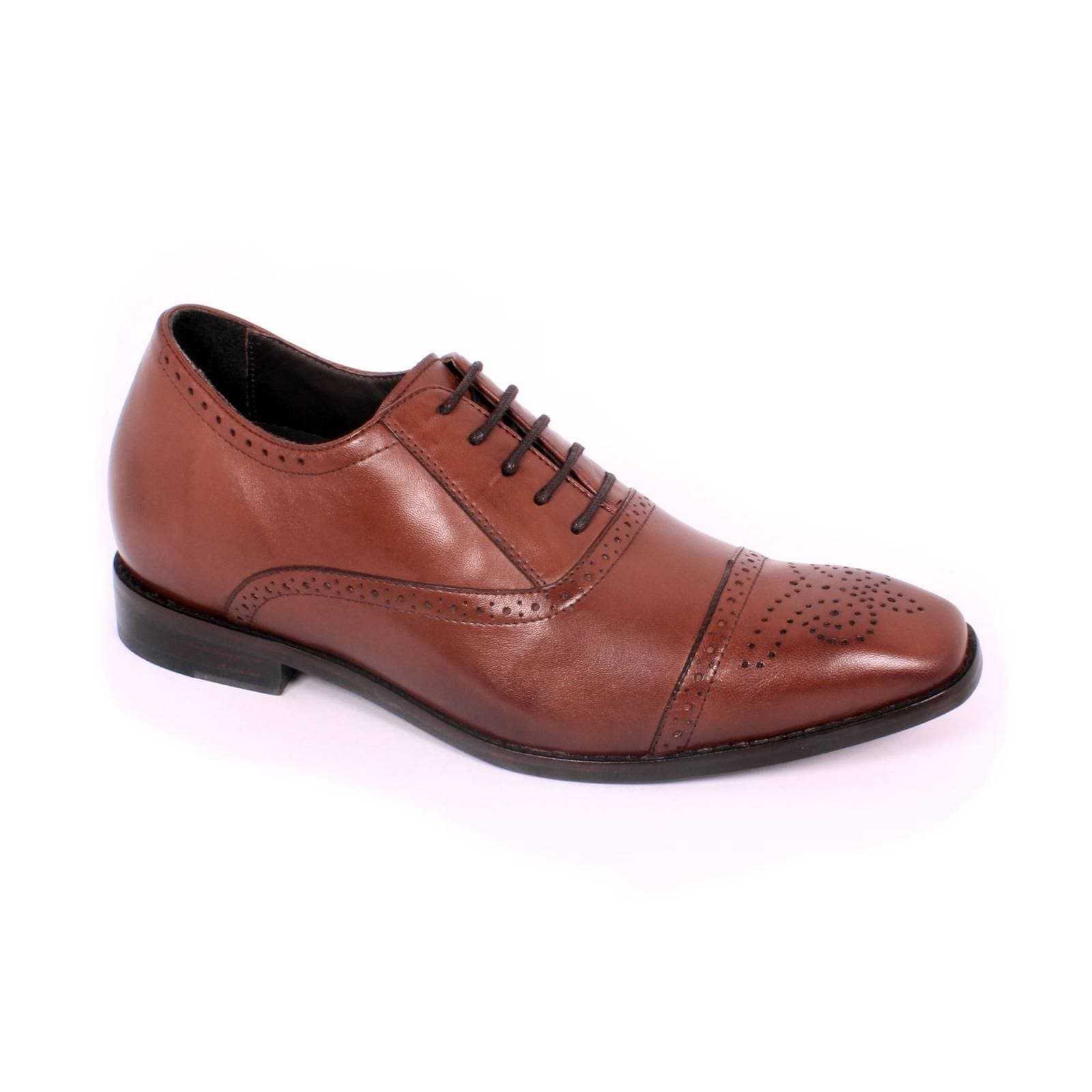 Zapato Formal British Café Max Denegri +7cms De Altura