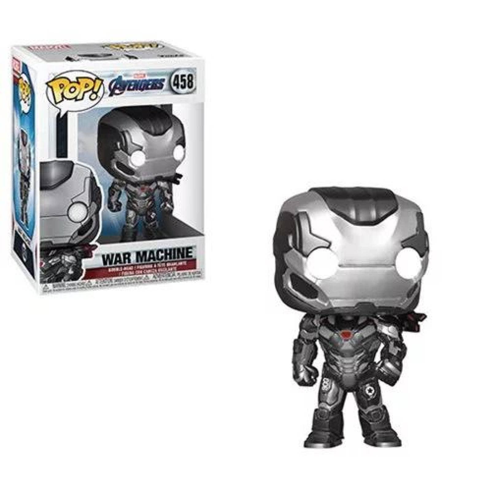 War Machine Funko Pop Avengers Endgame