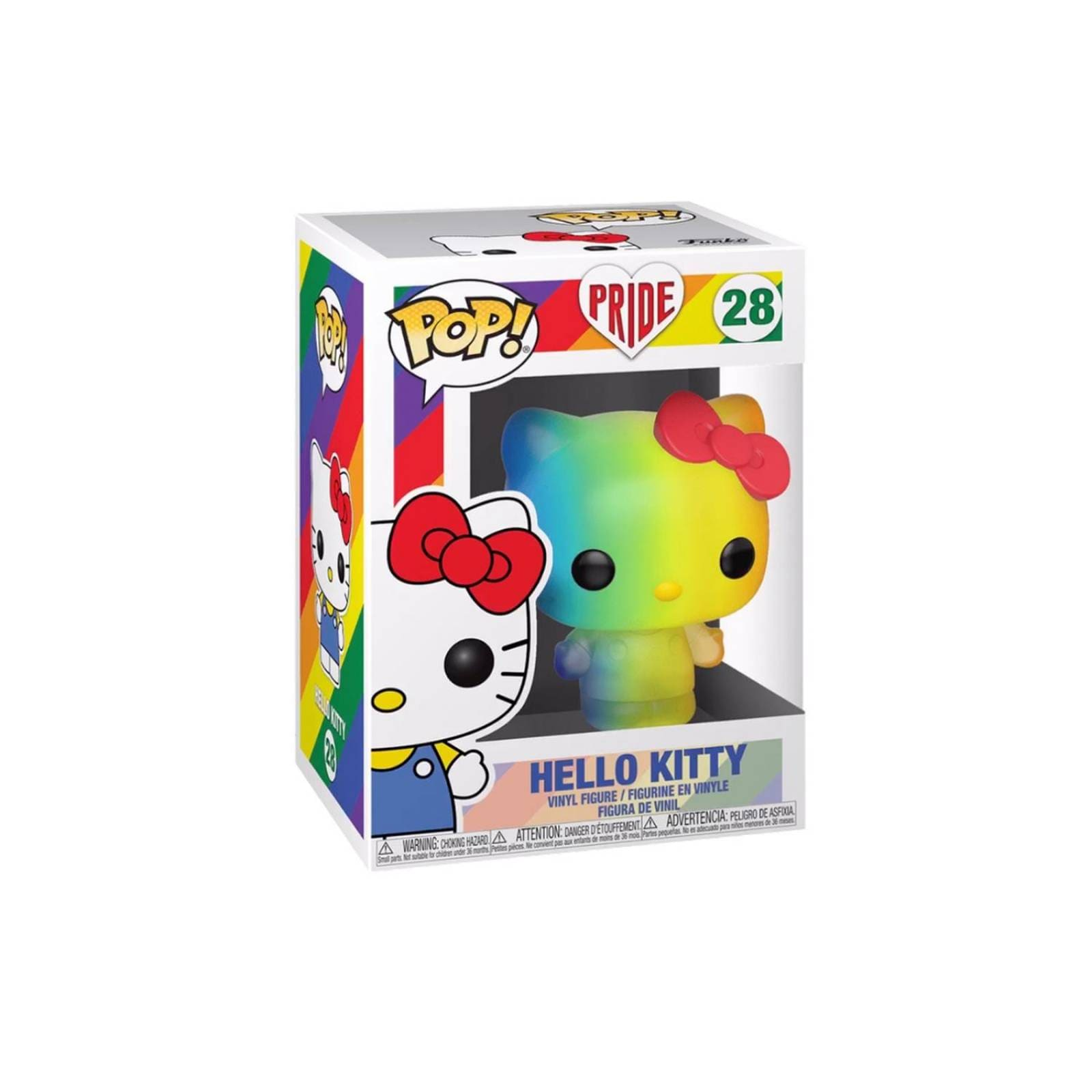 Hello Kitty Rainbow Funko Pop Pride 2020
