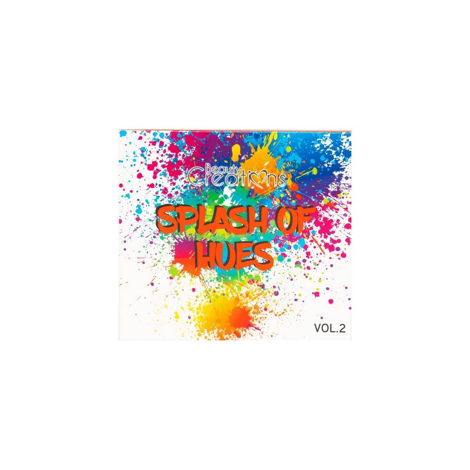 Sombras Splash of Hues Beauty Creations vol 2