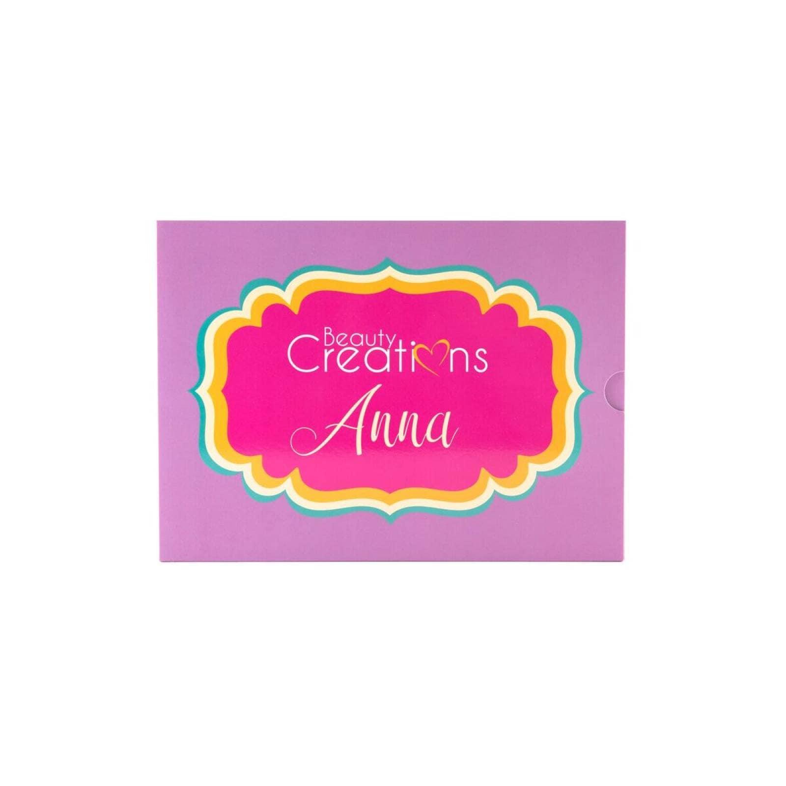 Sombras Anna  Beauty Creations 35 tonos