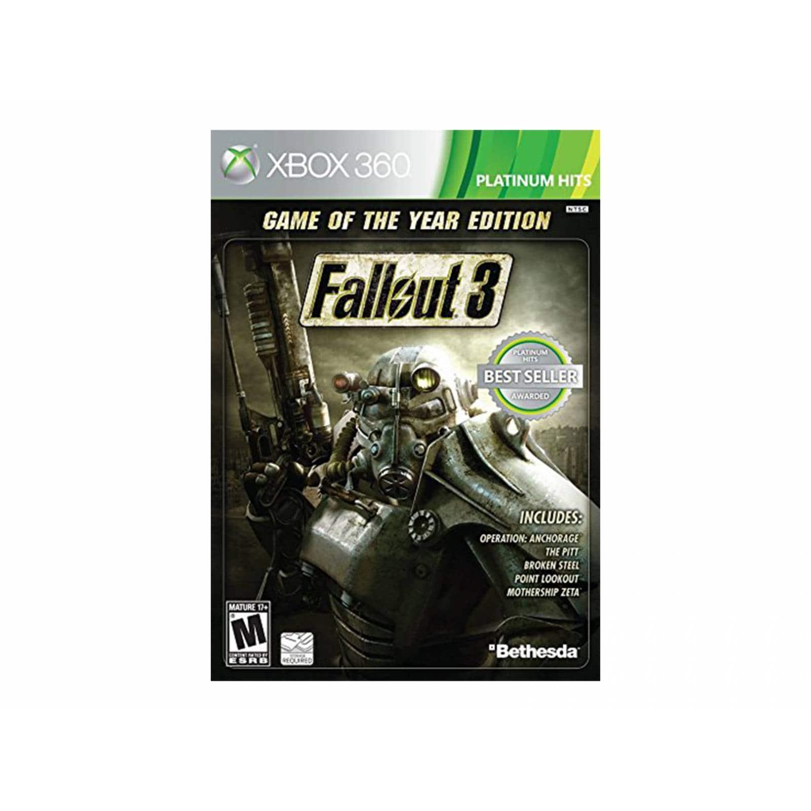 Fallout 3 Goty    X360 Ph