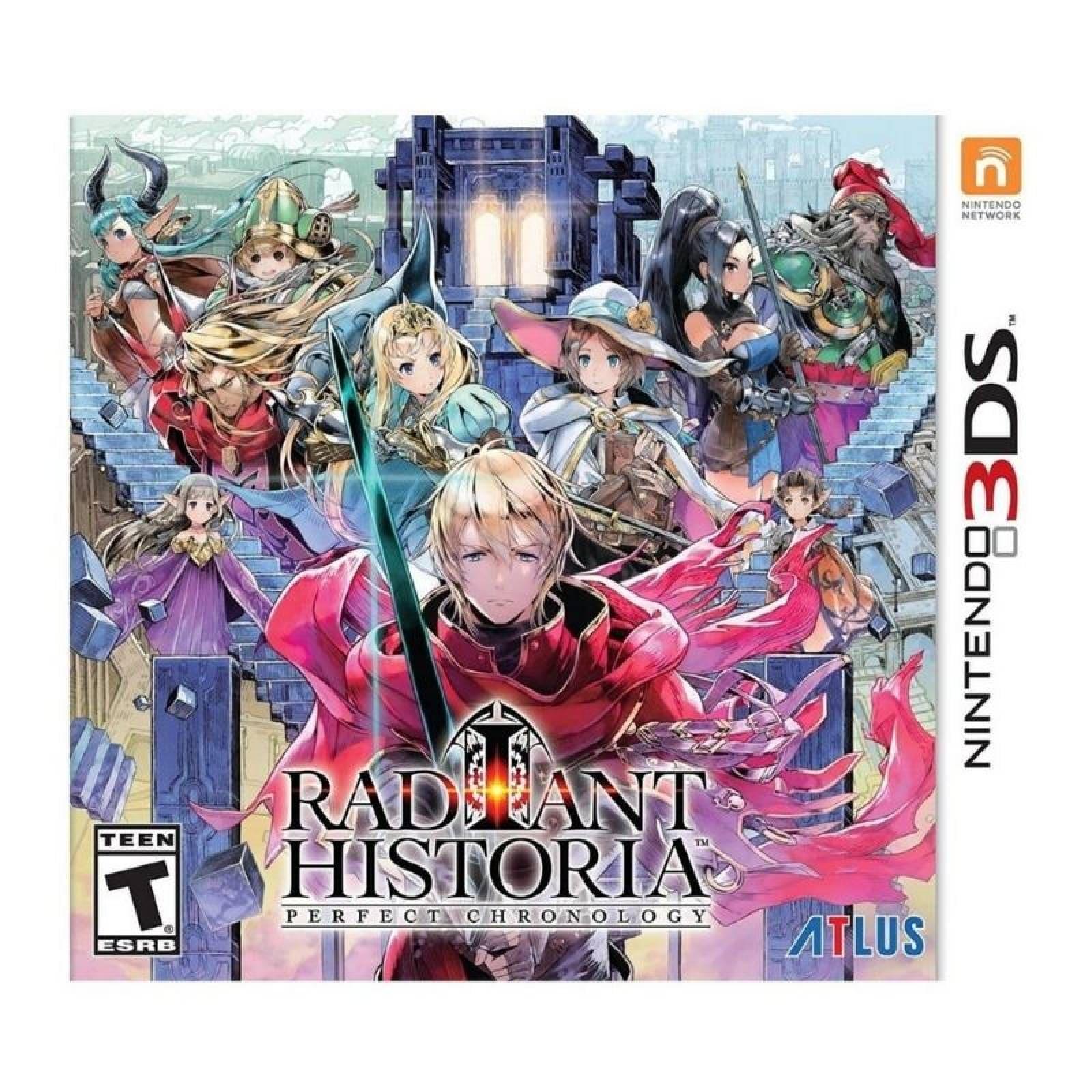 Radiant Historia: Perfect 3DS