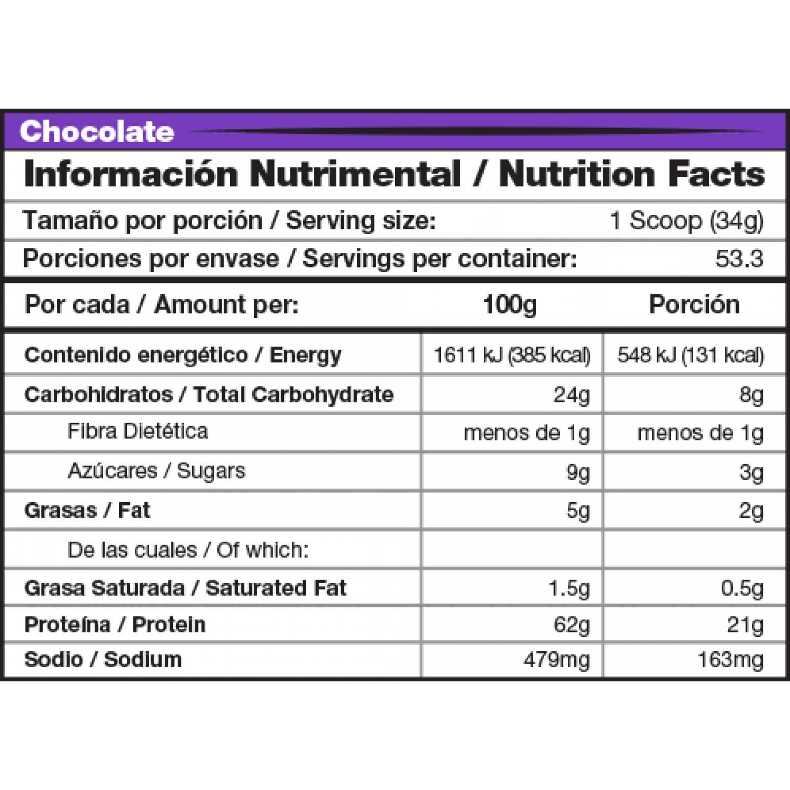 Proteina Mdn Whey Ner Extend 1.8 Kg - 53 Porciones Sabor Rol Canela