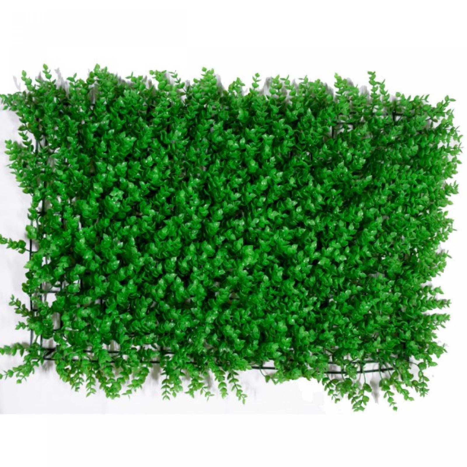 Follaje artificial 40x60 cm muro verde modelo tropical
