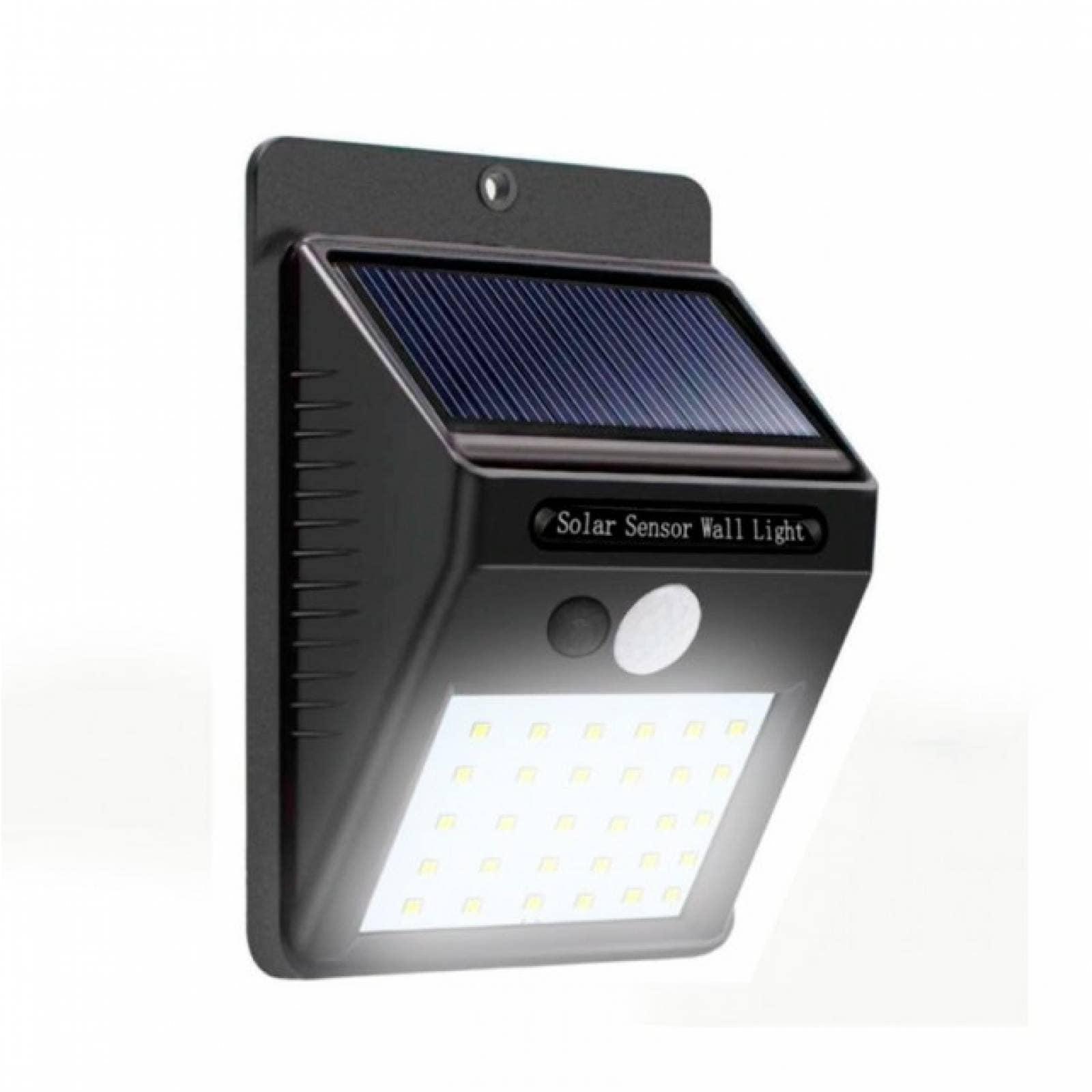 Sensor Movimiento 30 al Solar Con Lámpara De Impermeable 30 Leds KTcF3l1J