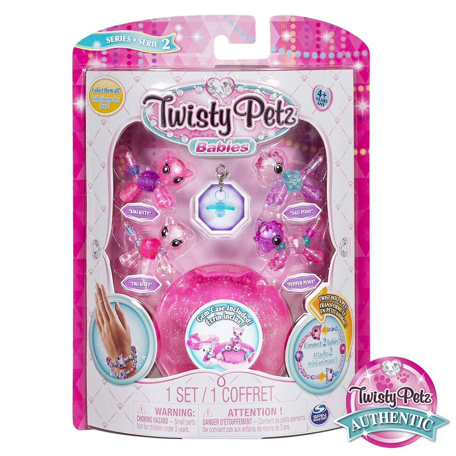 Twisty Petz 4 Figuras Bebes
