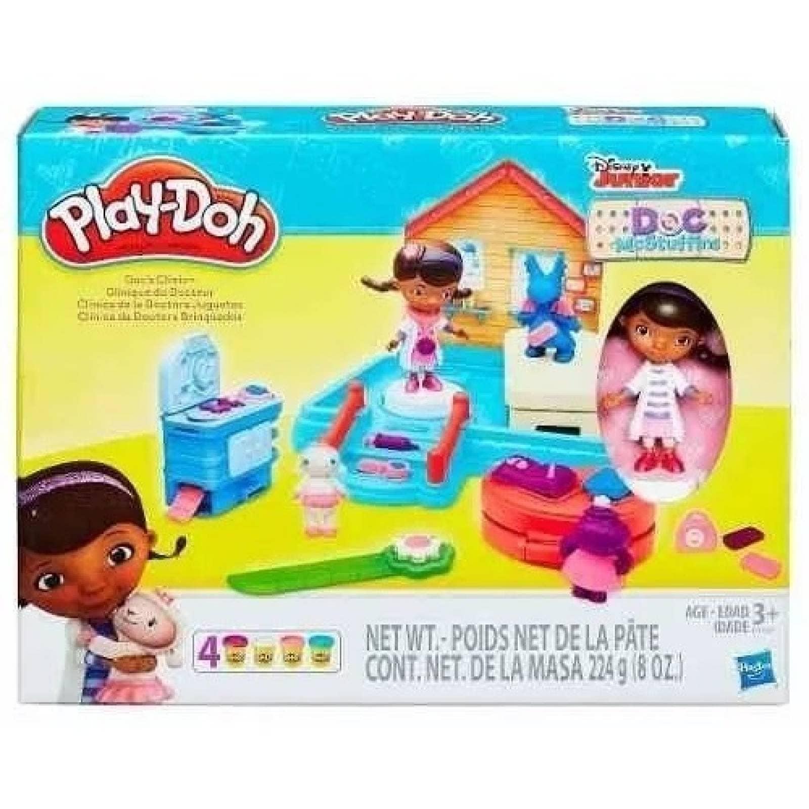 Play Doh Clínica Doctora Juguetes