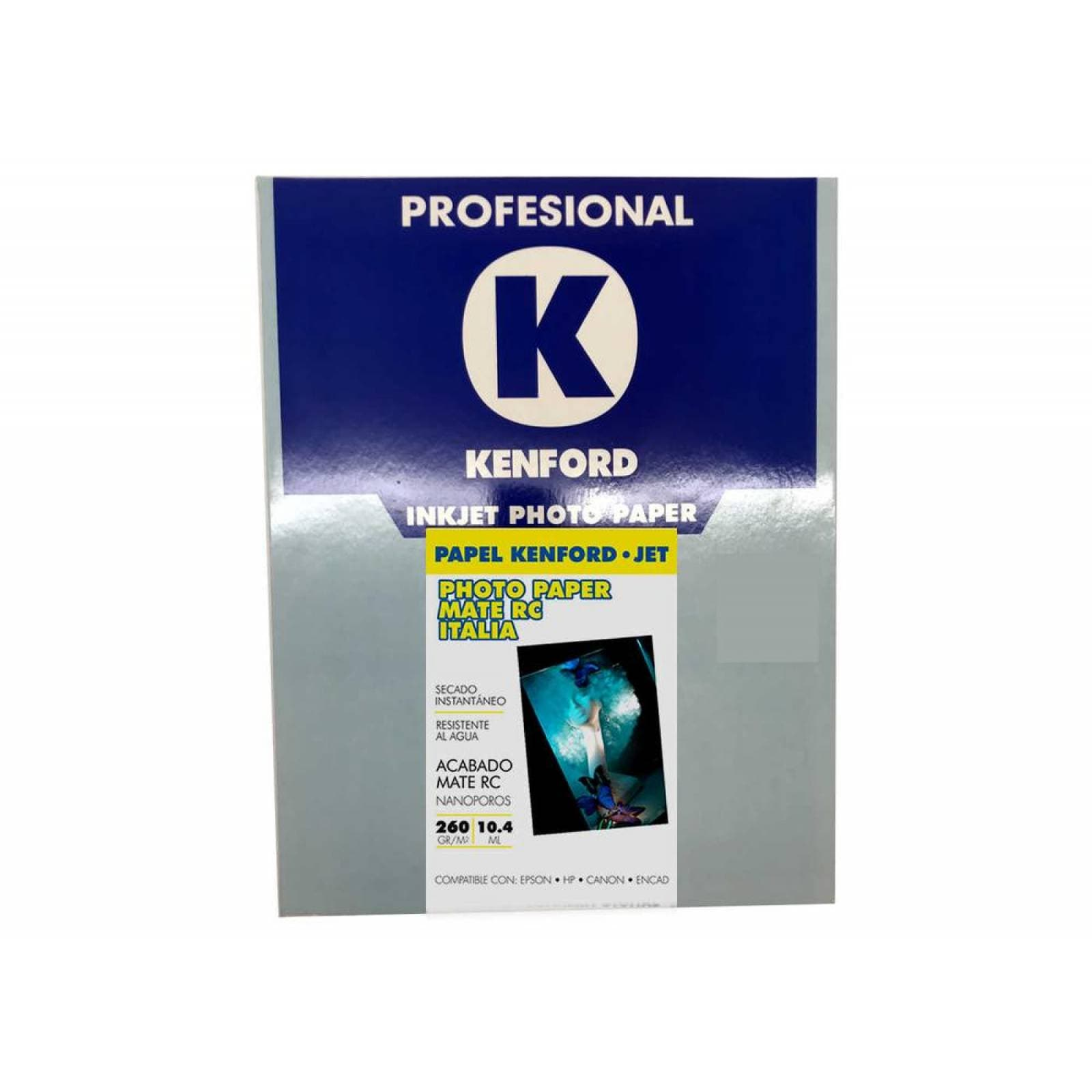 Papel fotografico Kenford Kd039 Express Mate 210g 100 h carta