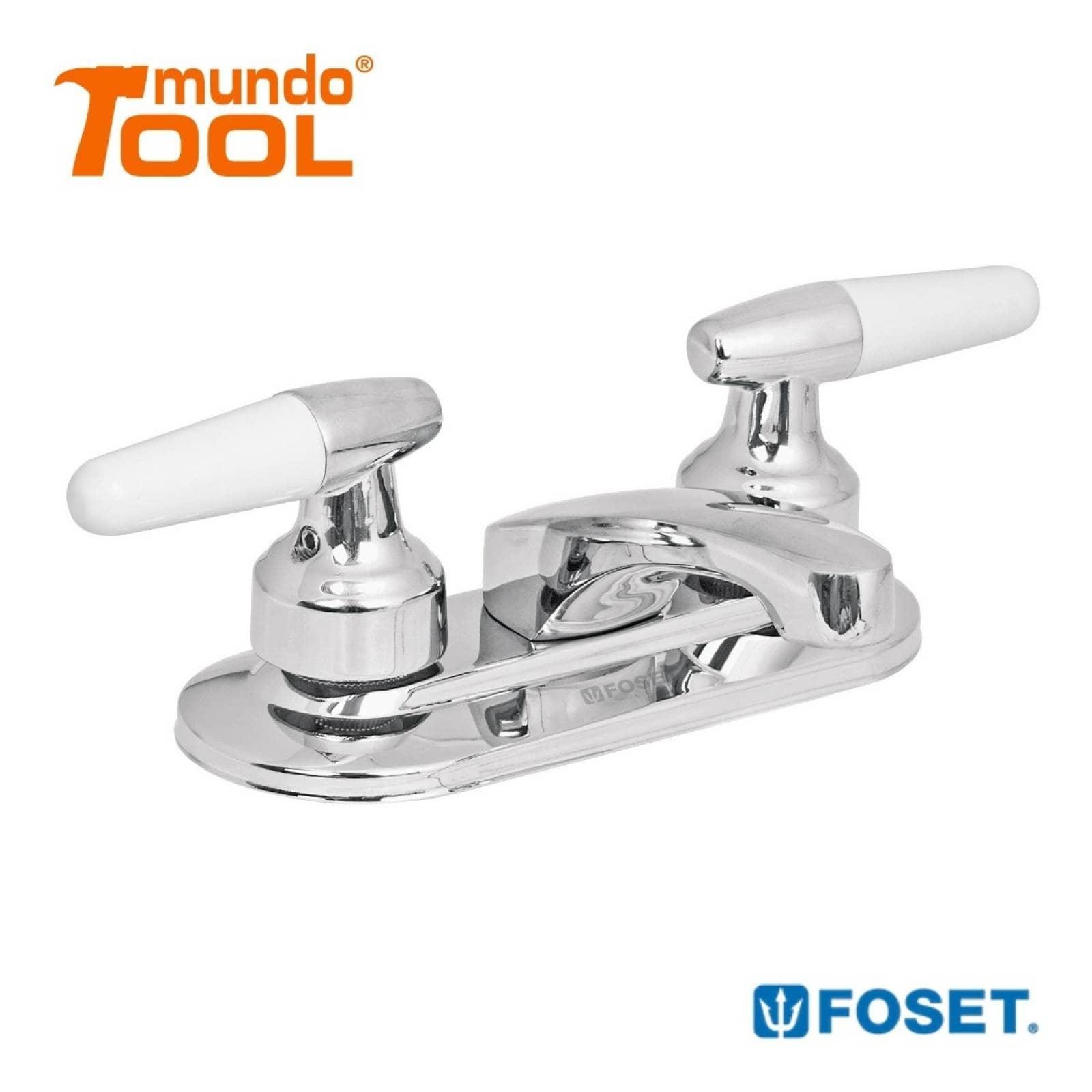 Mezcladora Lavabo Manerales Cono Basic Foset 49203