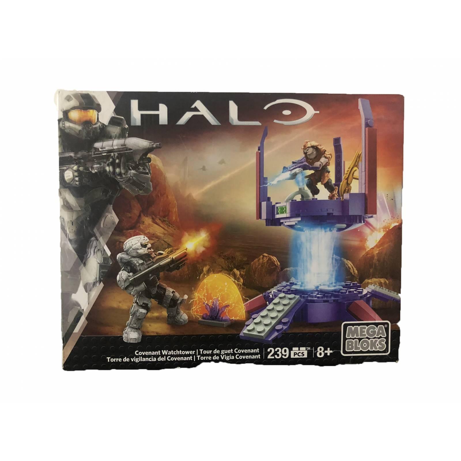 Megabloks, Halo - Torre de vigilancia del covenant. 239 piezas.