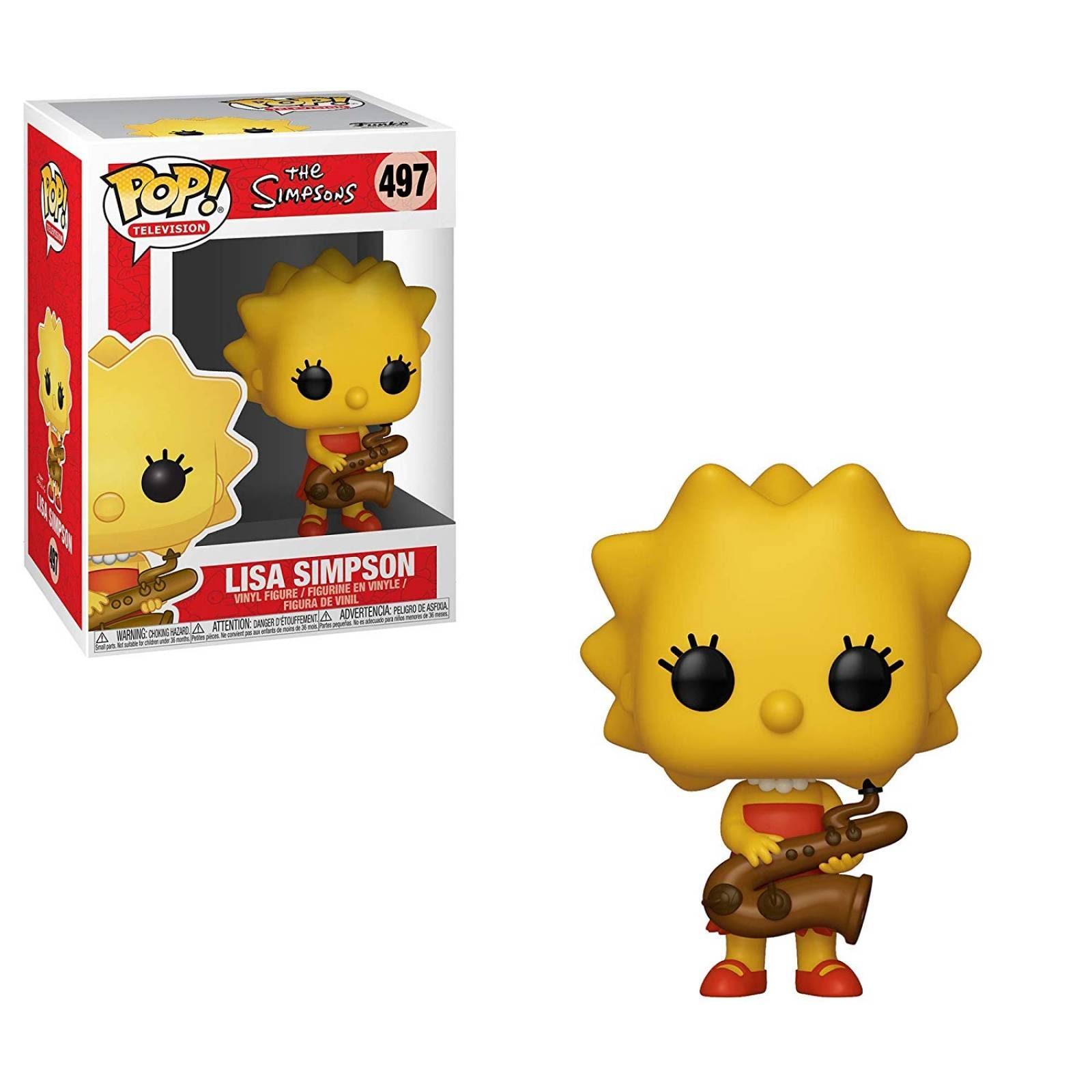 Funko Pop Lisa Simpson de Los Simpson
