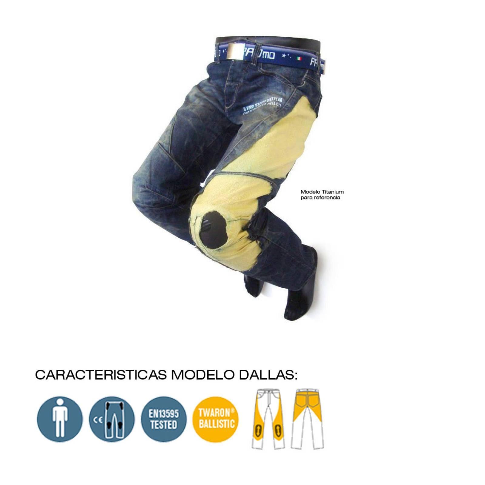 PANTALON ITALIANO PARA MOTOCICLISMO MODELO DALLAS PMJ