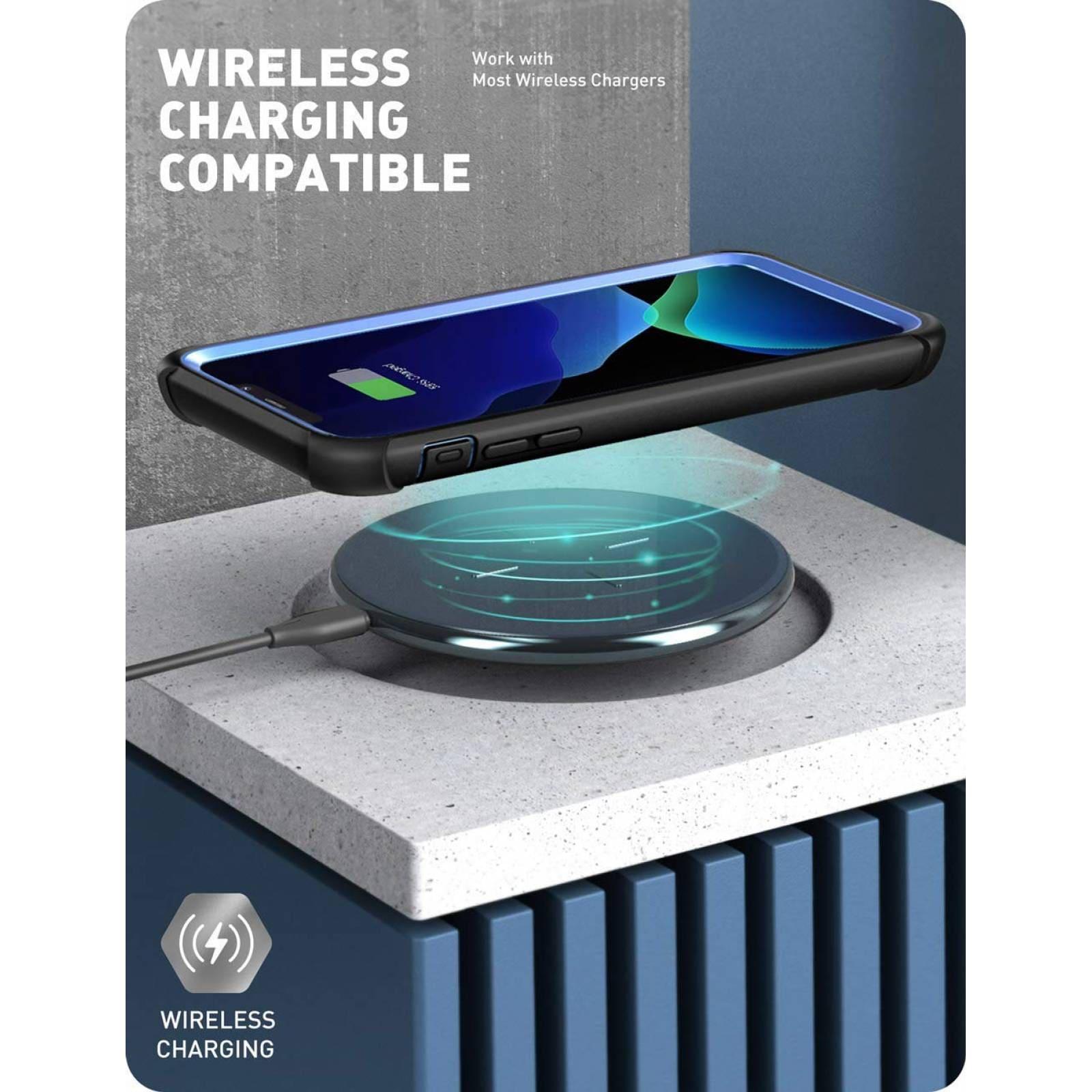 Funda iPhone 11 Pro Max I-blason Ares Rudo Original Mica - Azul