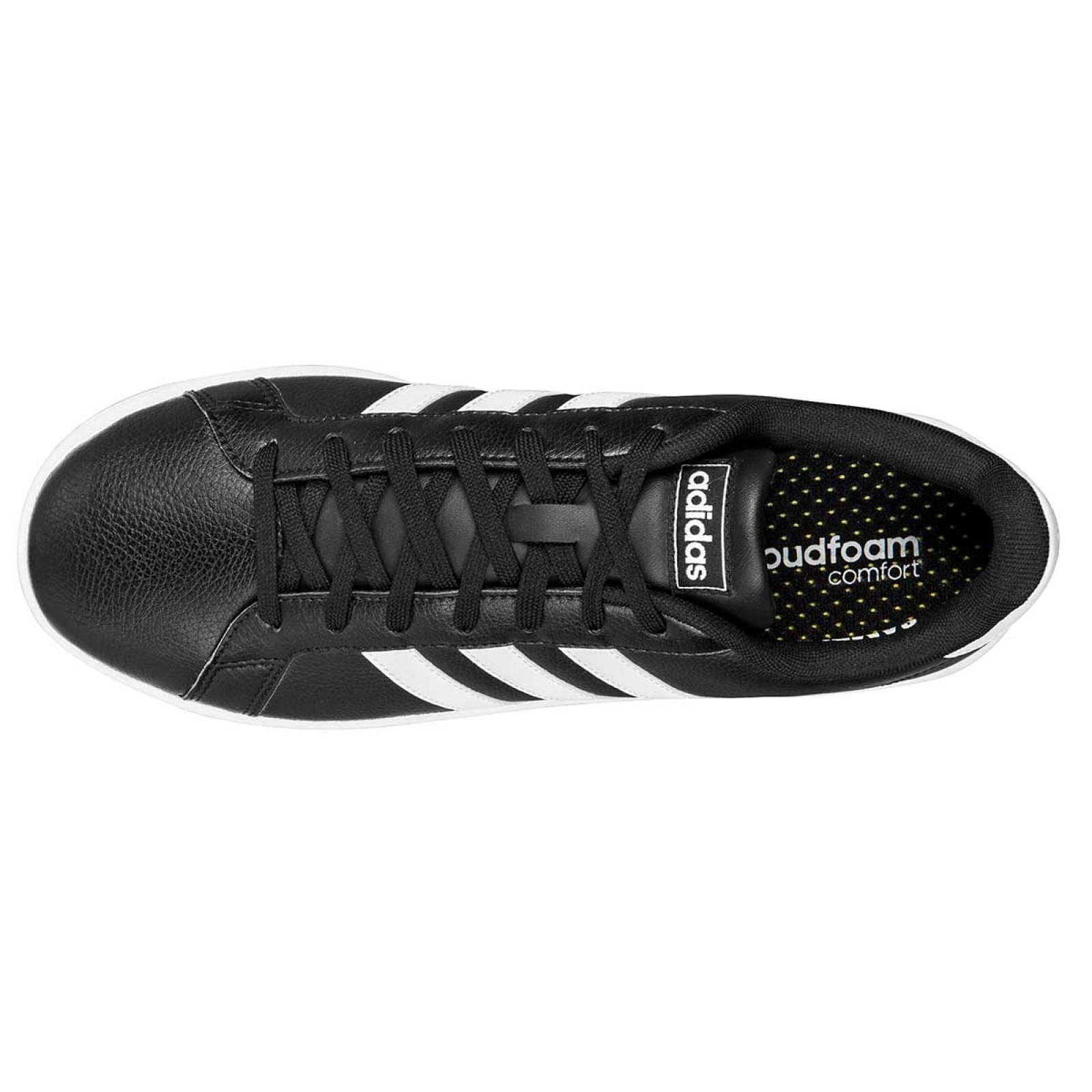 Adidas Tenis Hombre Negro blanco grand court