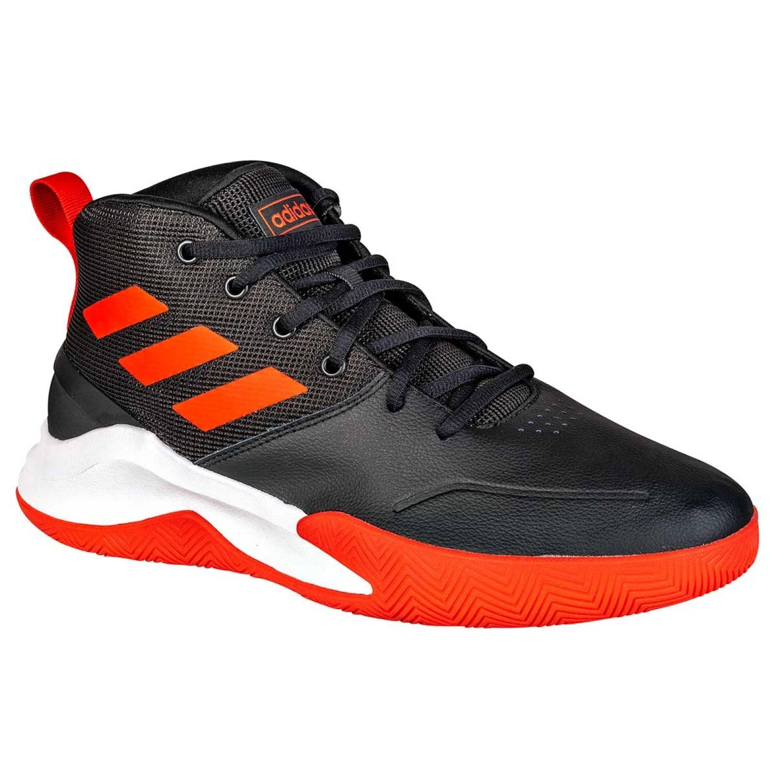 Adidas Tenis Hombre Negro rojo