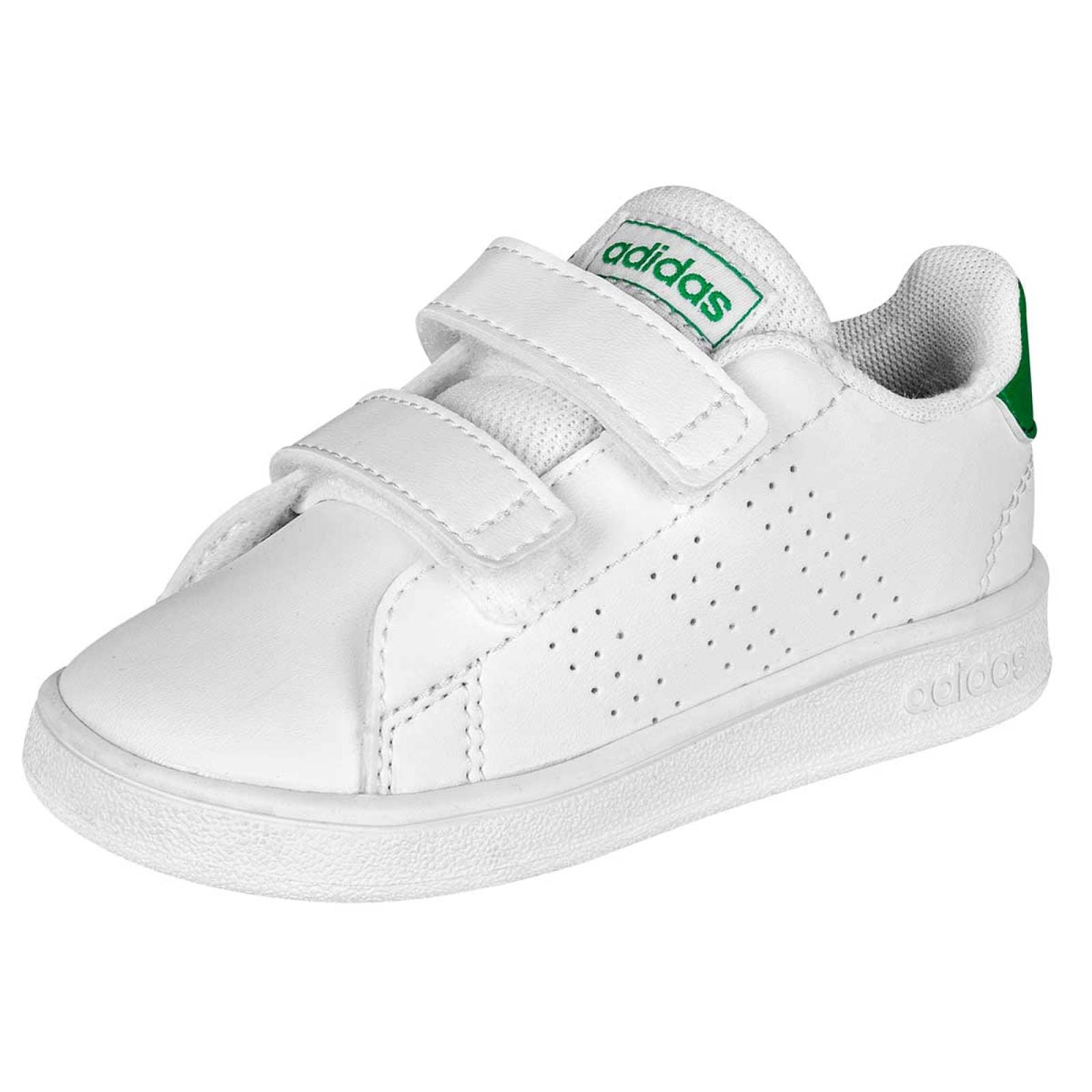 Adidas Tenis Niño bebe Blanco verde