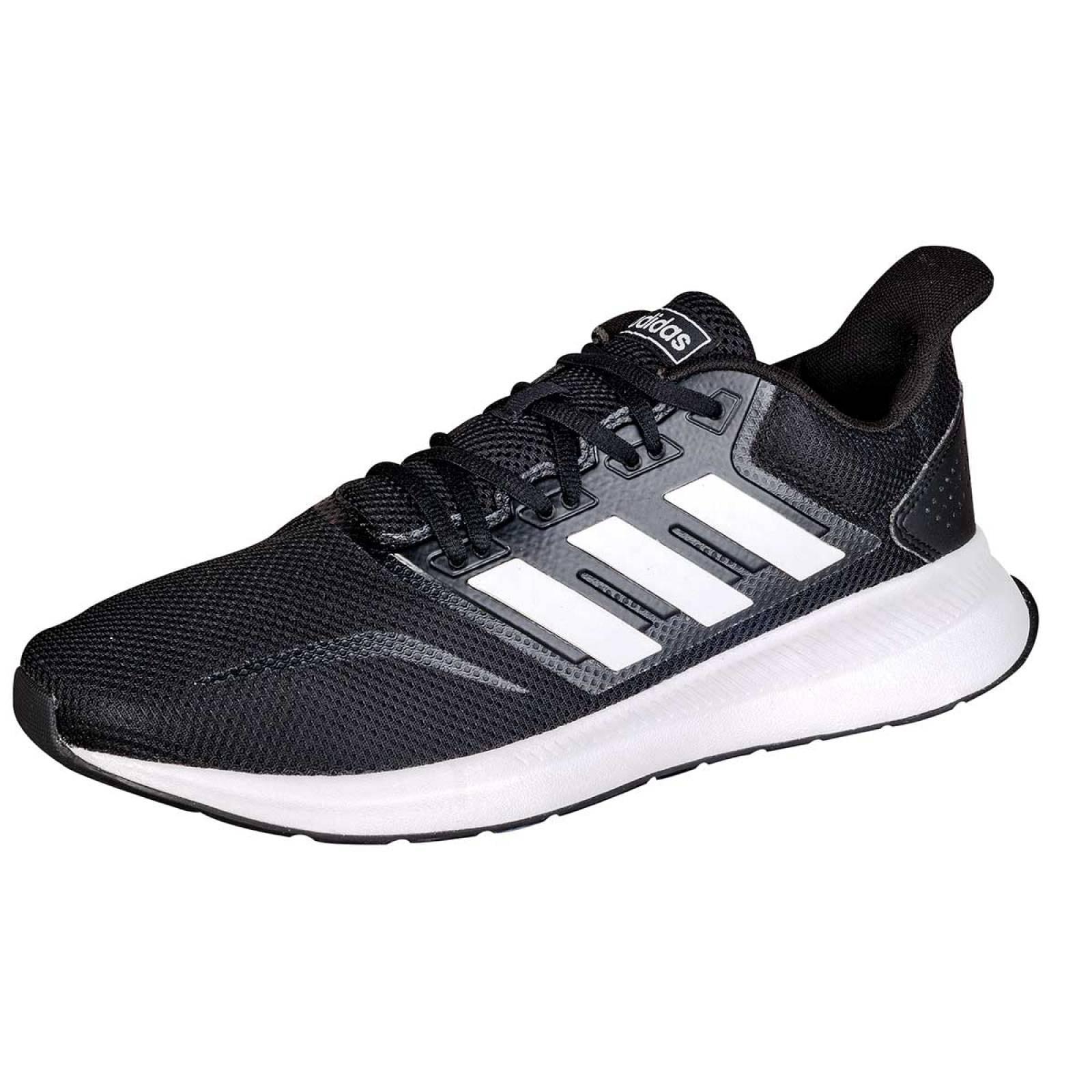 Adidas Tenis Hombre Negro blanco