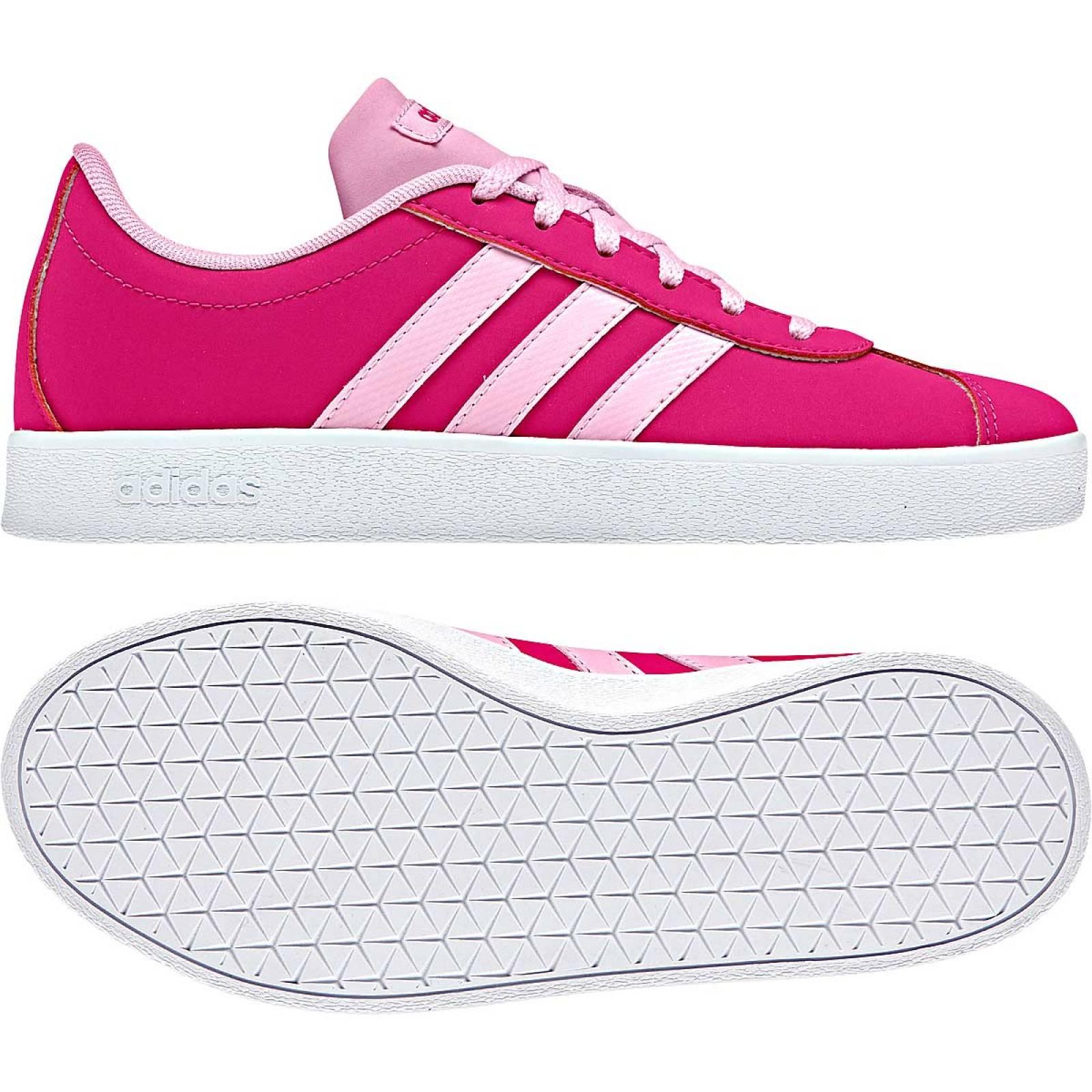 Adidas Tenis Mujer Fiusha rosa