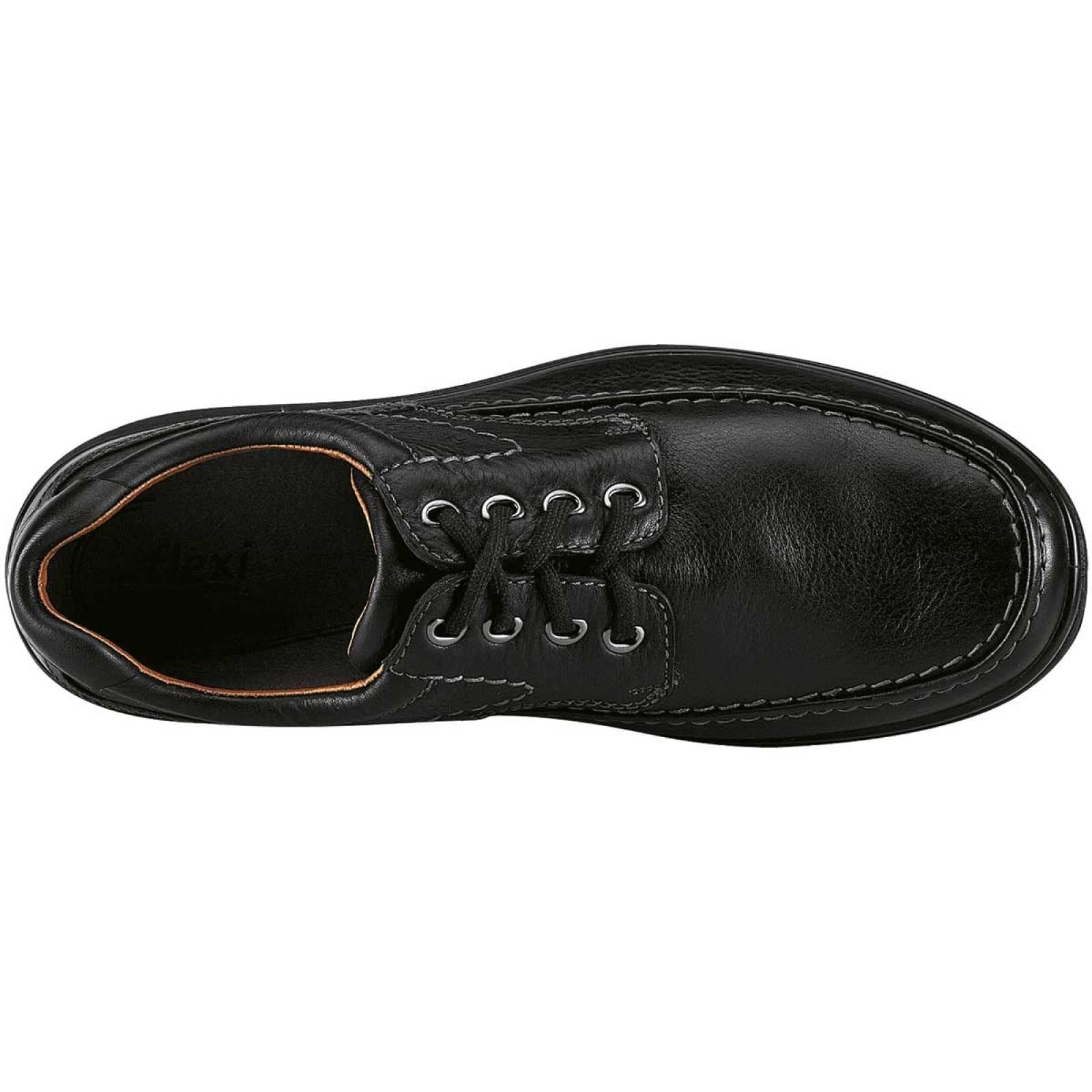 Flexi Zapato Hombre Negro