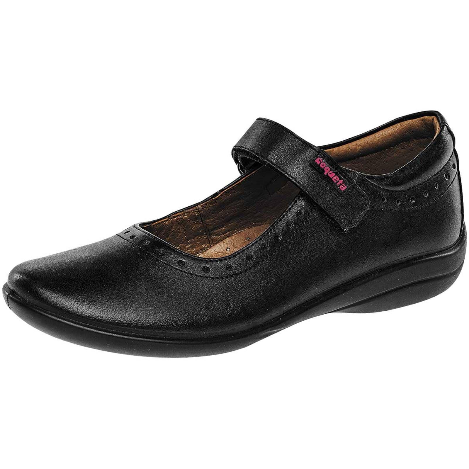 Coqueta Zapato Mujer Negro