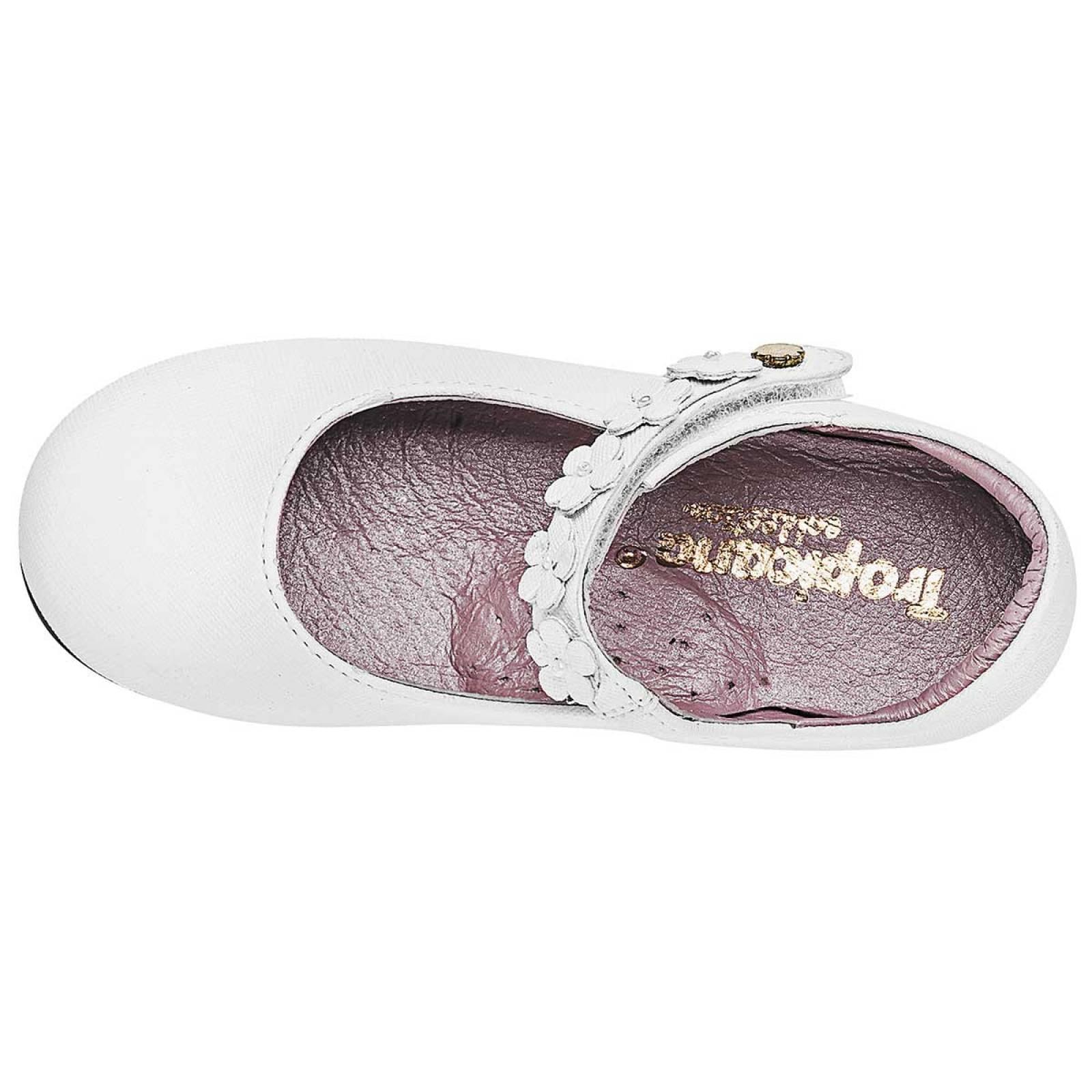 Tropicana Zapato Niña bebe Blanco