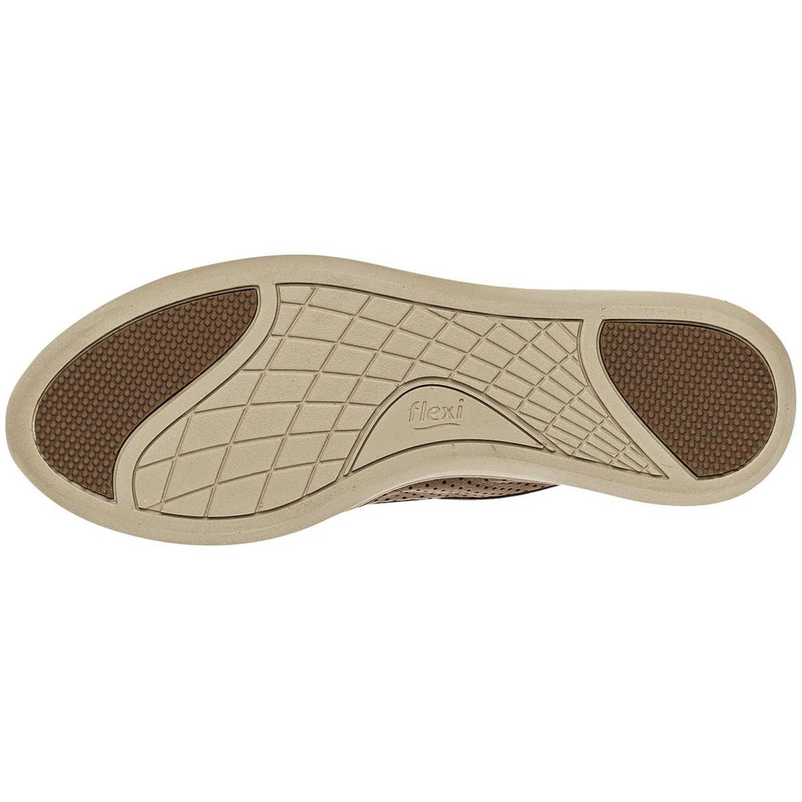 Flexi Zapato Mujer Camel