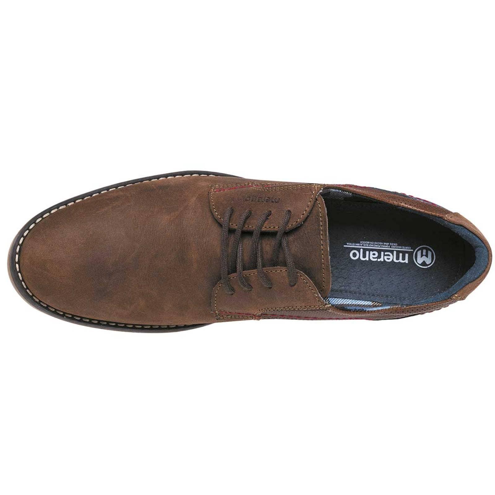Merano Zapato Hombre Cafe marino