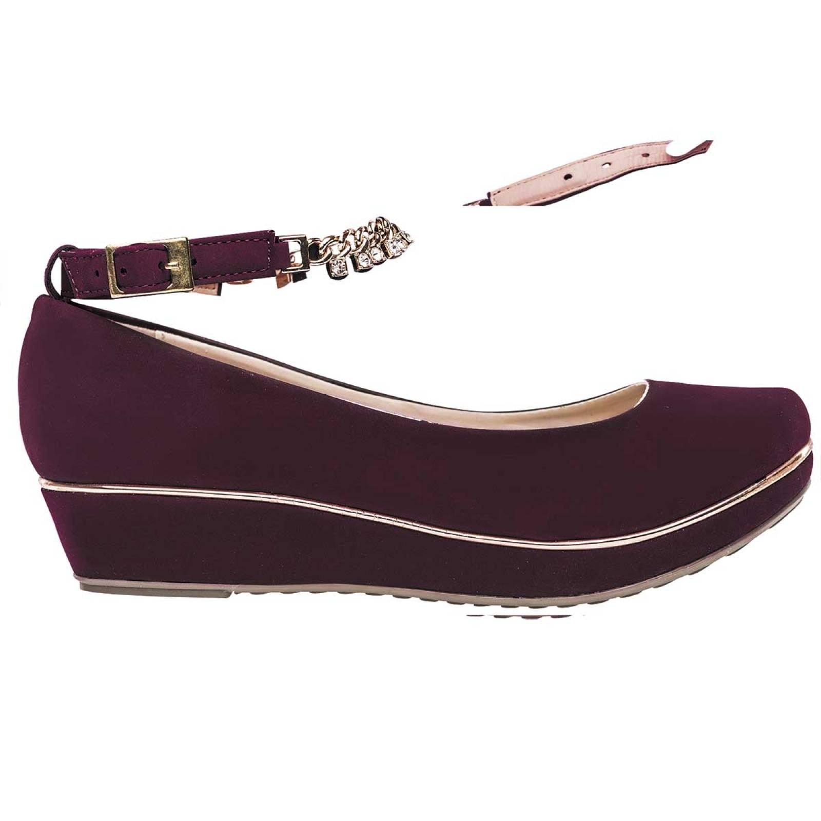 Been class Zapato Mujer Vino