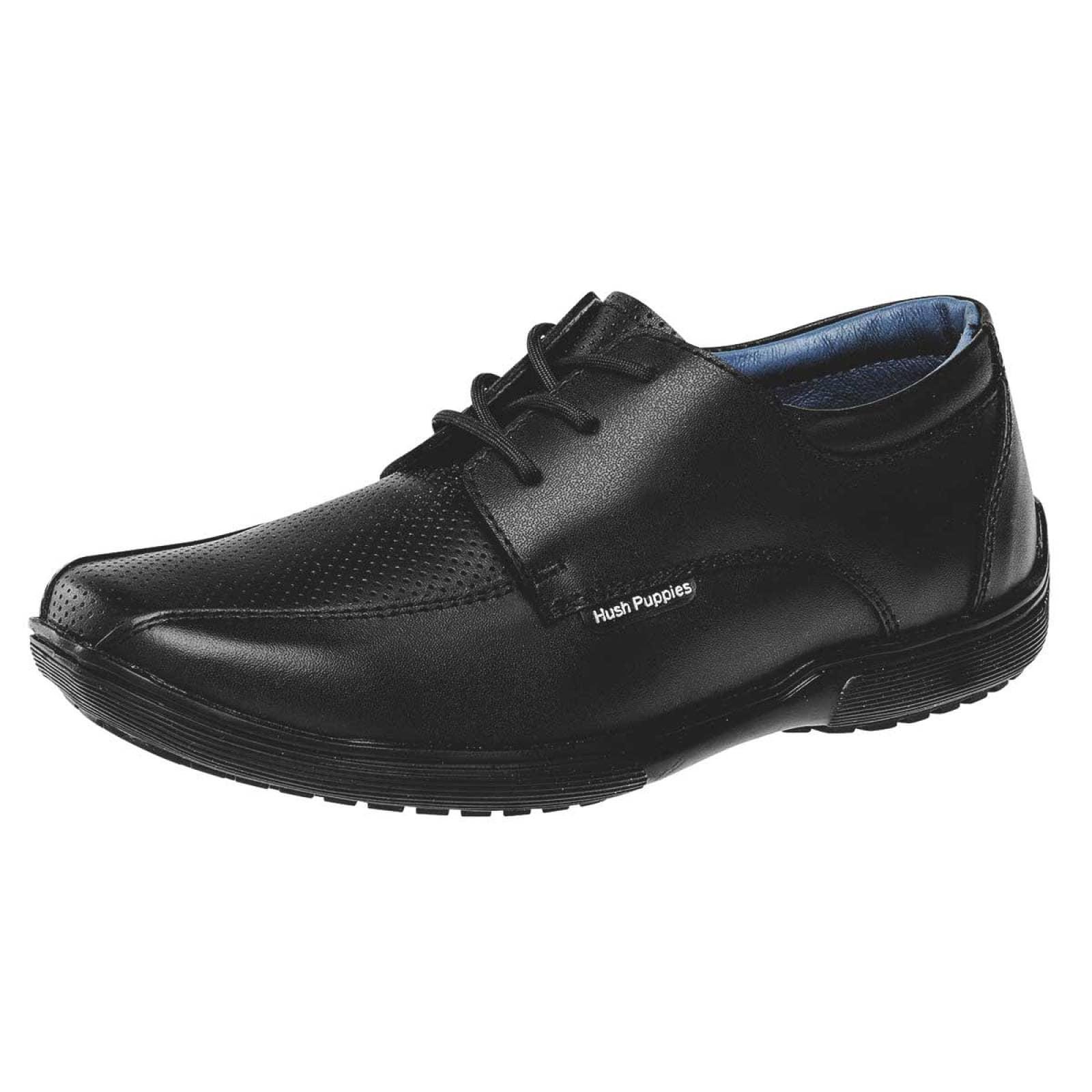 Hush puppies kids Zapato Joven Negro