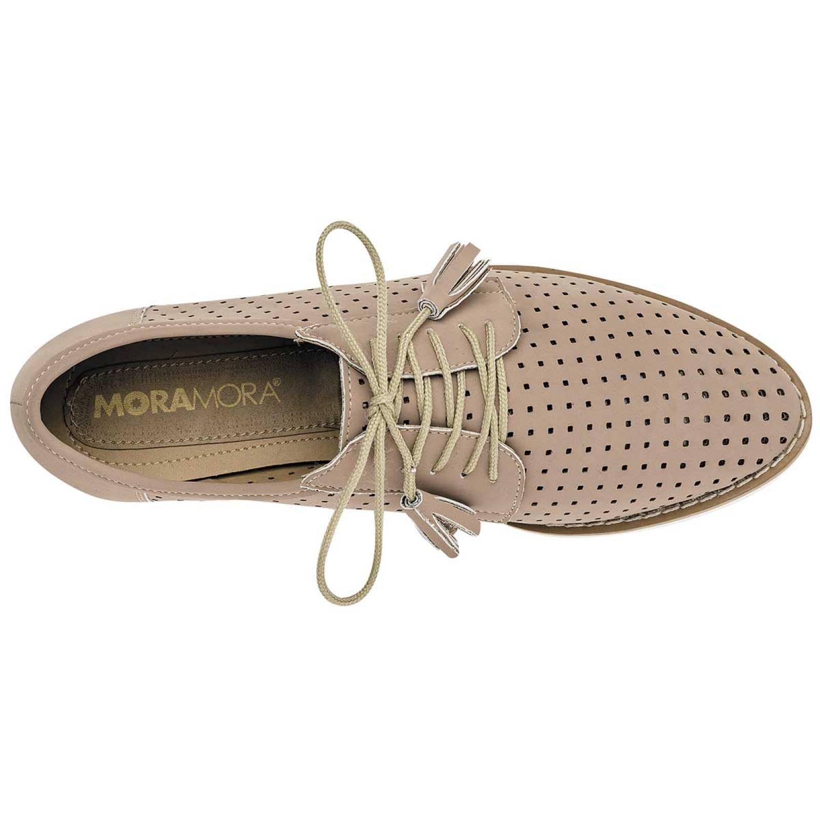 Moramora kandy live Zapato Mujer Beige