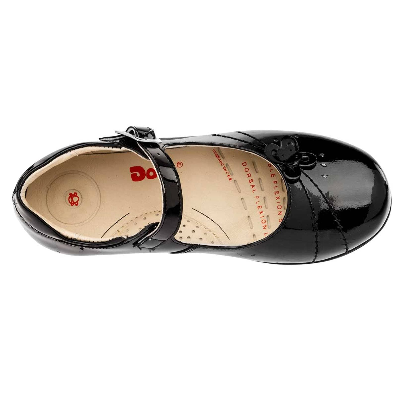 Dogi Zapato Niña Negro charol
