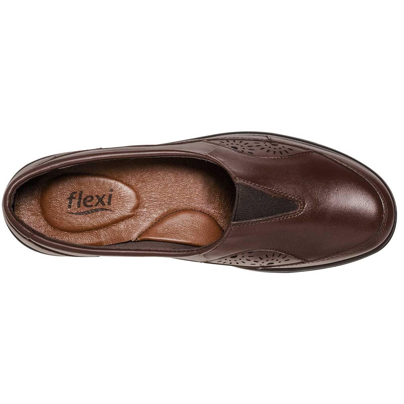 Flexi Zapato Mujer Cafe