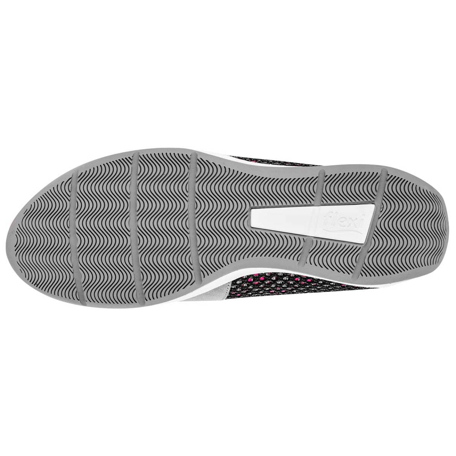 Flexi Zapato Mujer Gris fiusha