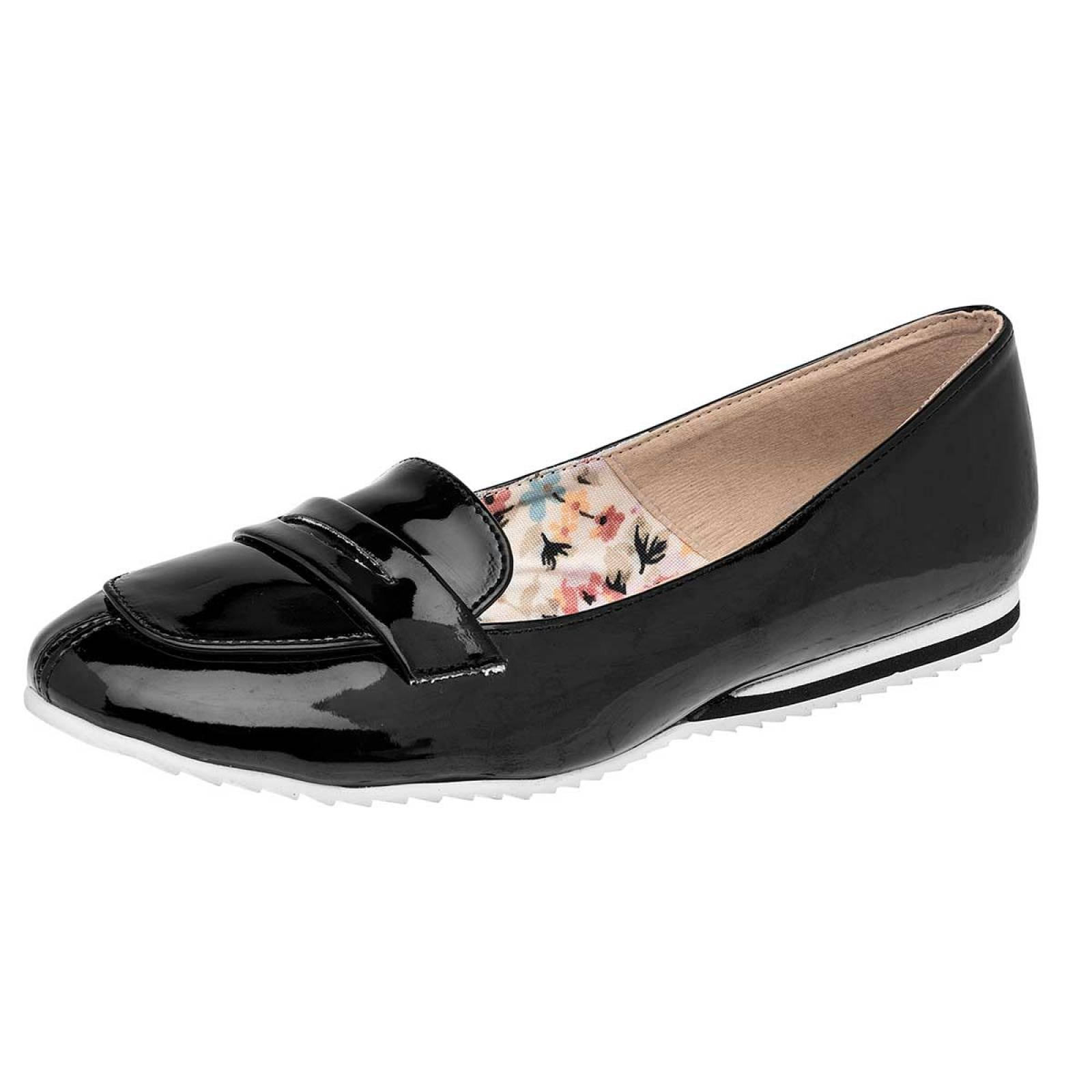 Gilardi Zapato Mujer Negro charol