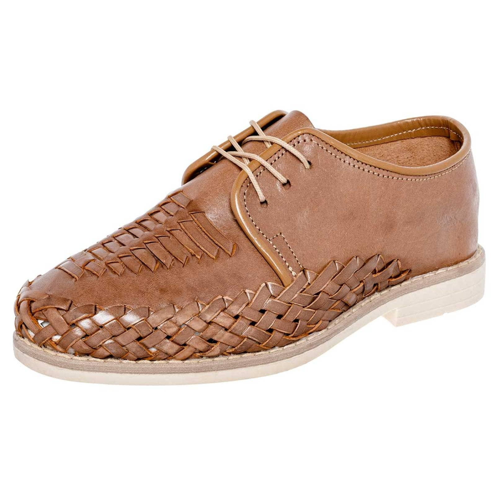 Indios Zapato Hombre Camel