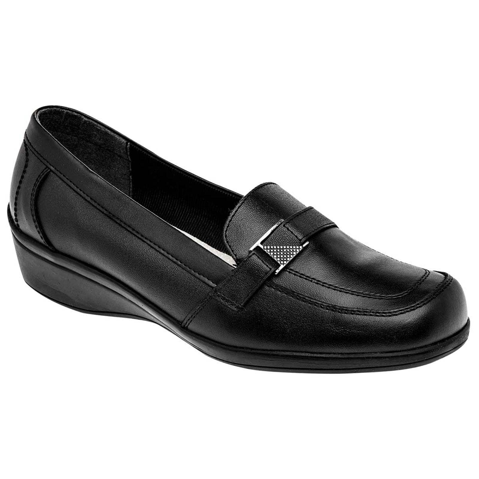 Suavecitos Zapato Mujer Negro