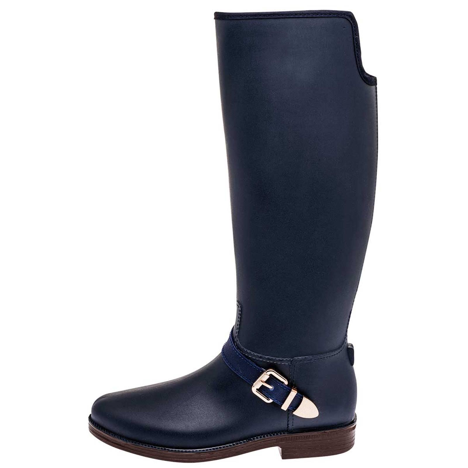 Top moda Zapato Mujer Marino