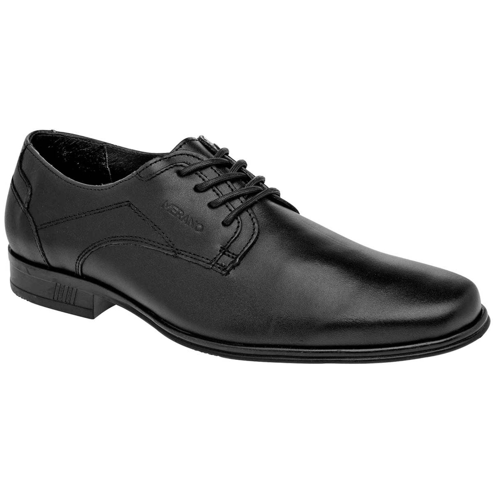 Merano Zapato Hombre Negro