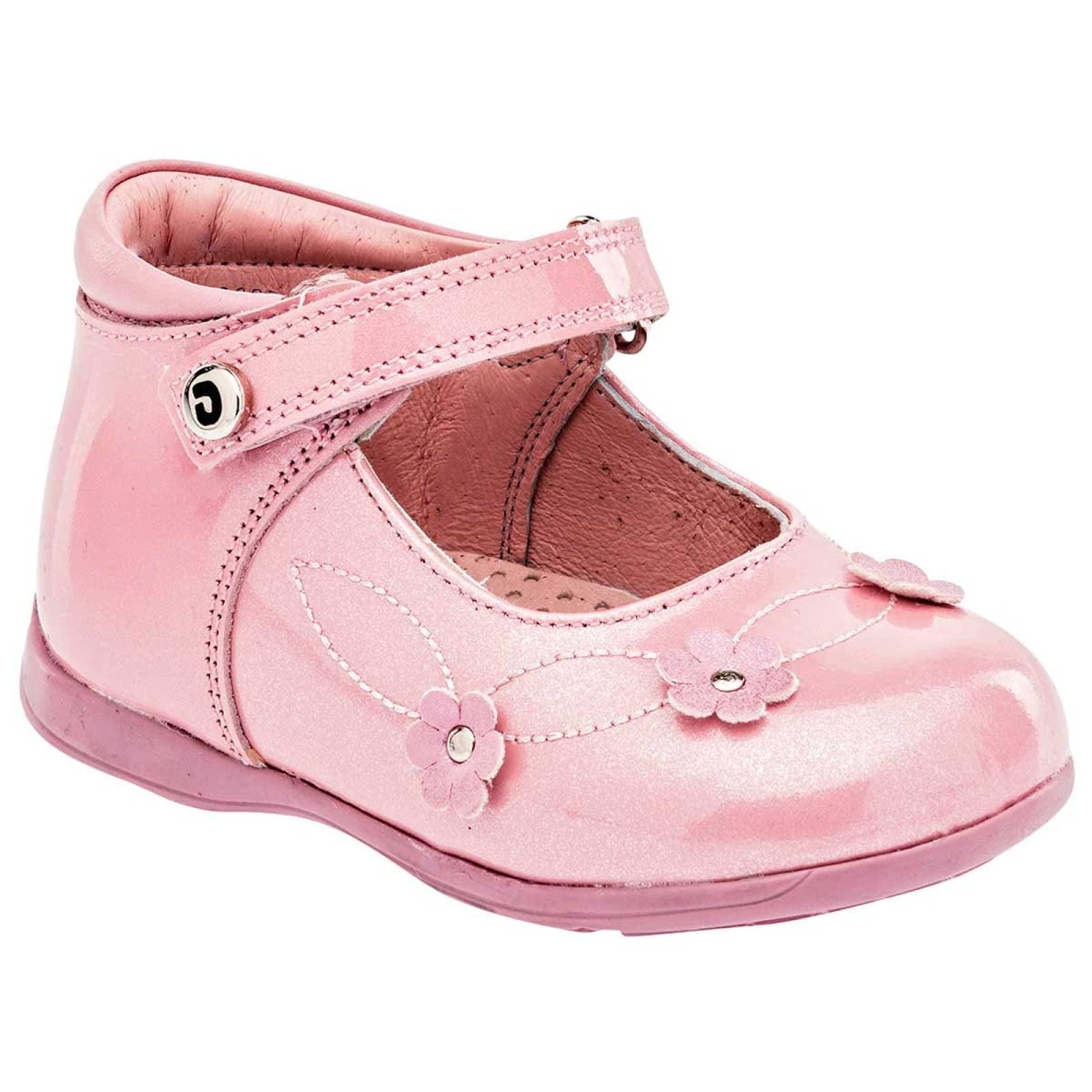 Dogi Zapato Niña bebe Rosa charol