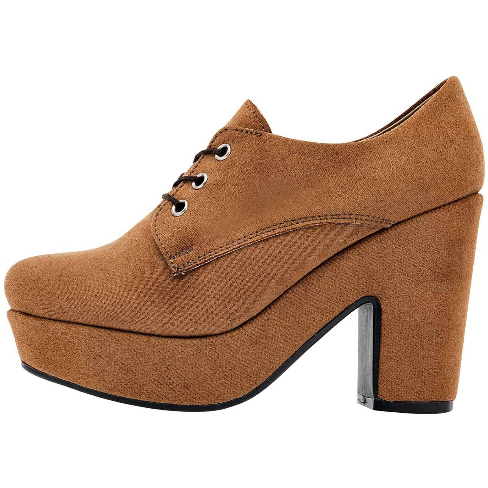 Lital liyu Zapato Mujer Camel