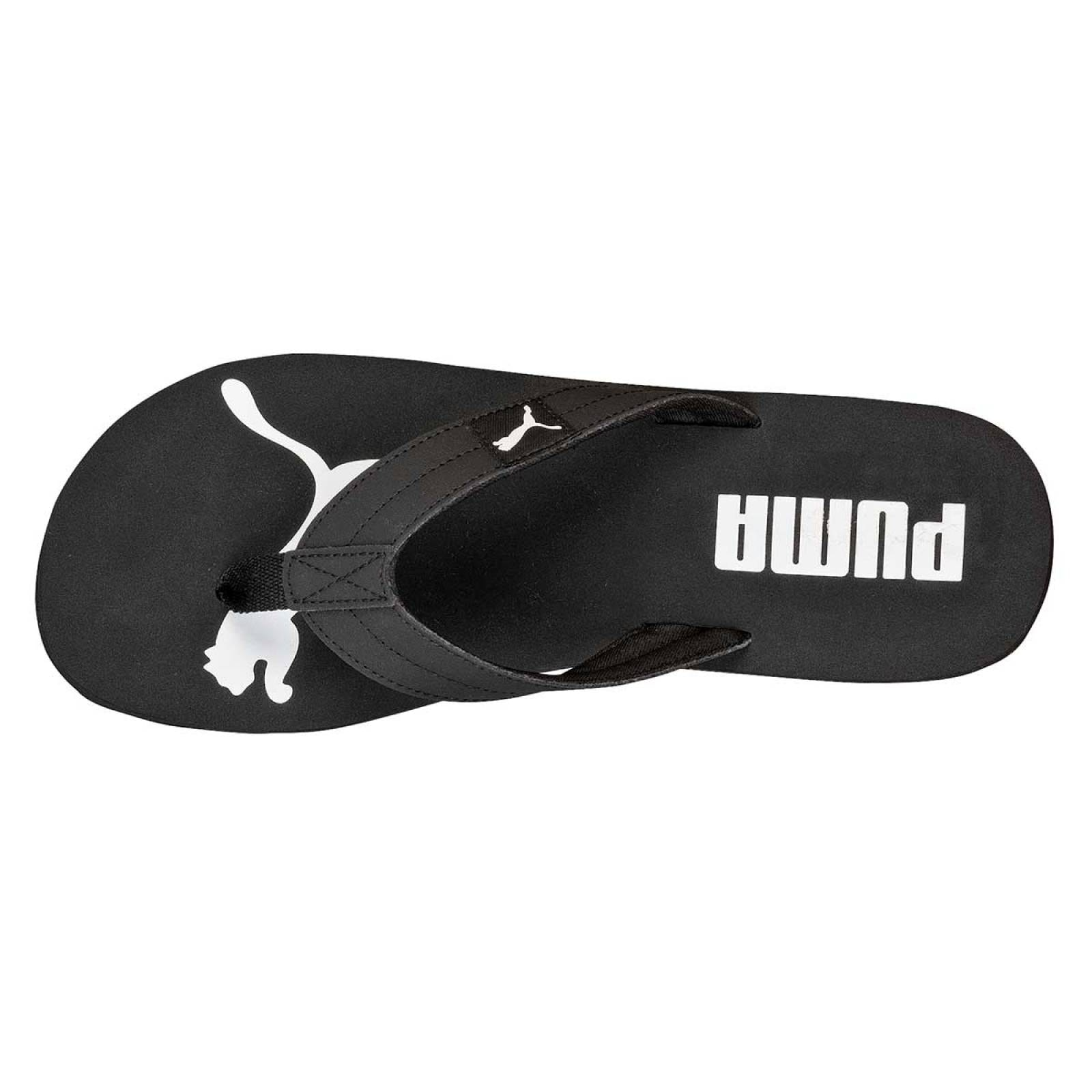 Puma Sandalia Hombre Negro blanco