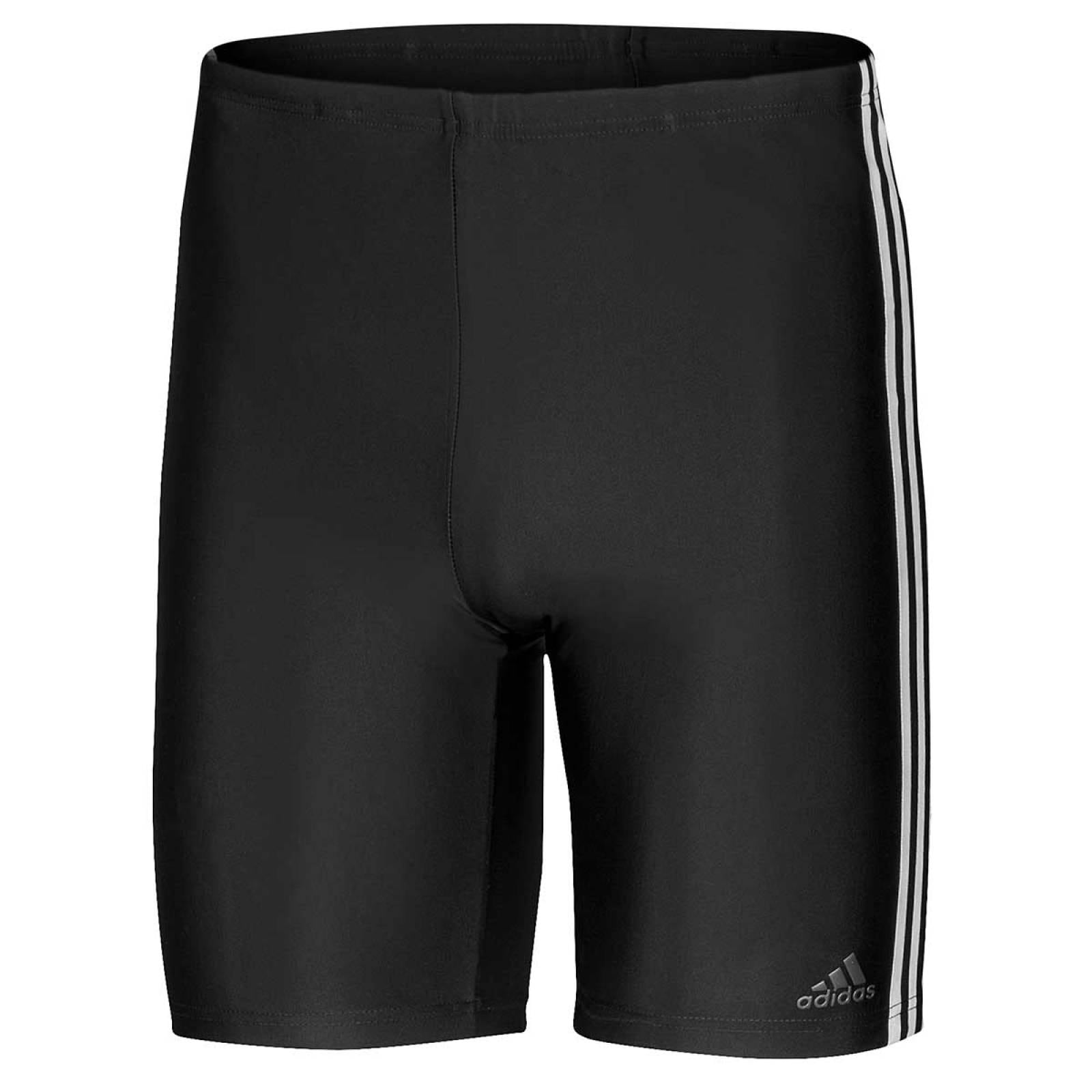 Adidas Traje de bano Hombre Negro blanco fit jam 3s