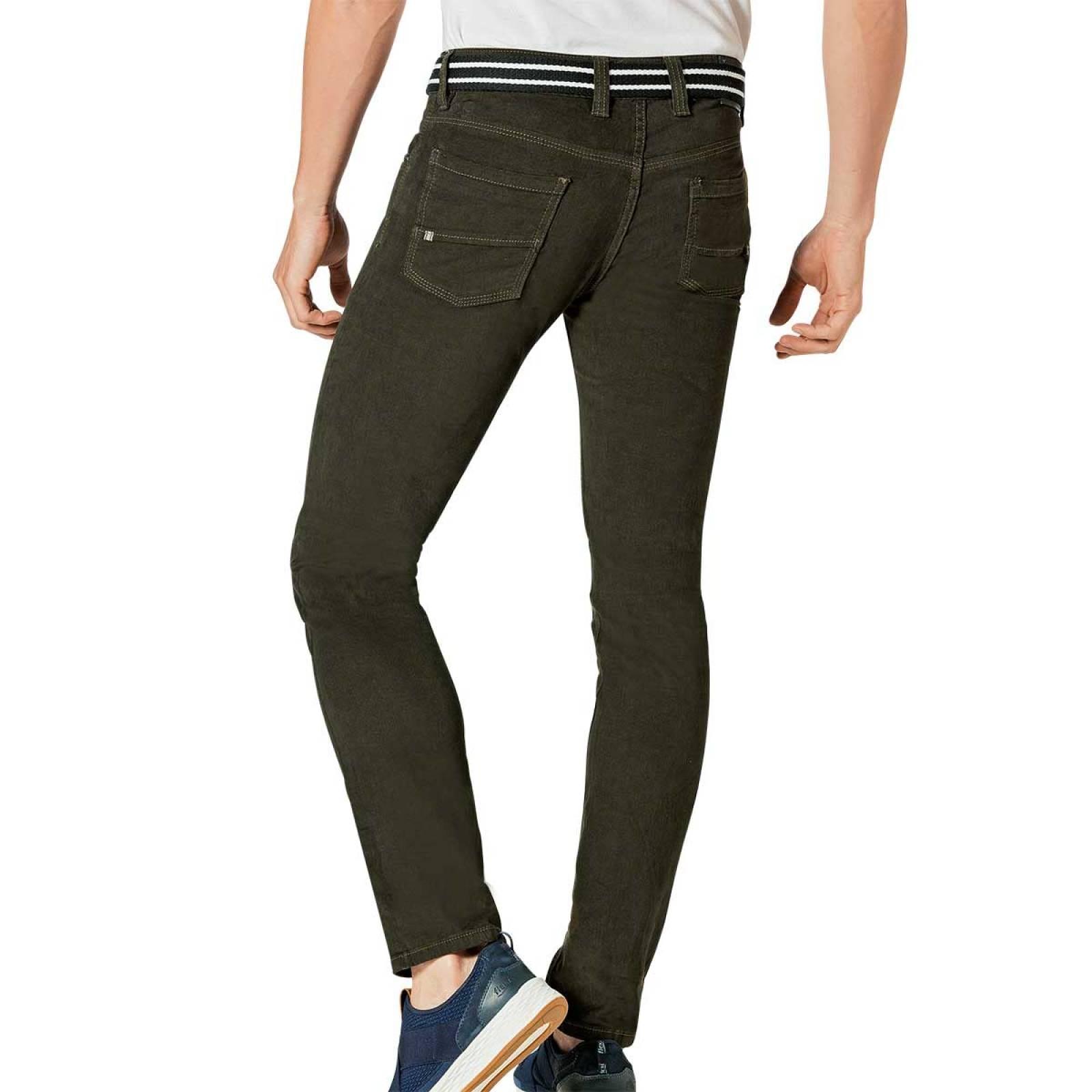 Yukuyata jeans Jeans Hombre Olivo