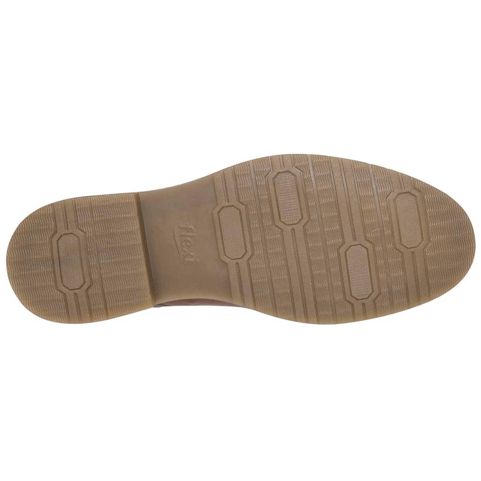 Flexi Zapato Hombre Camel