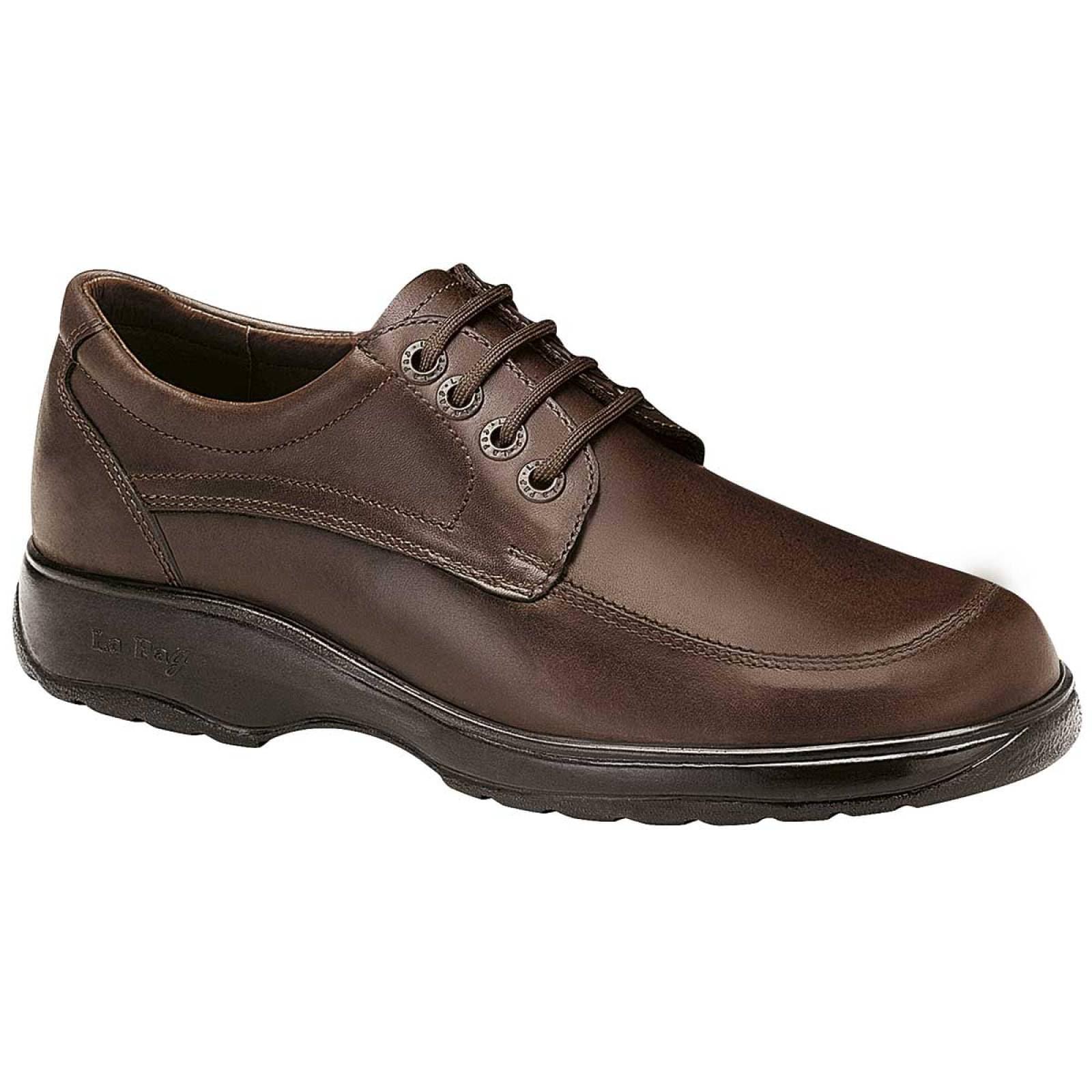 La pag Zapato Hombre Cafe