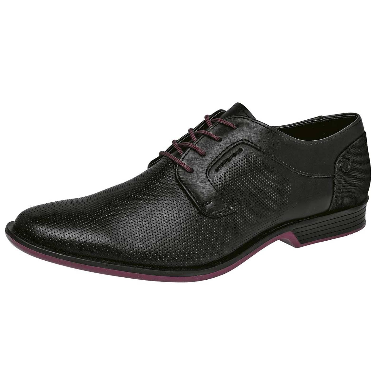 Negro total Zapato Hombre Negro